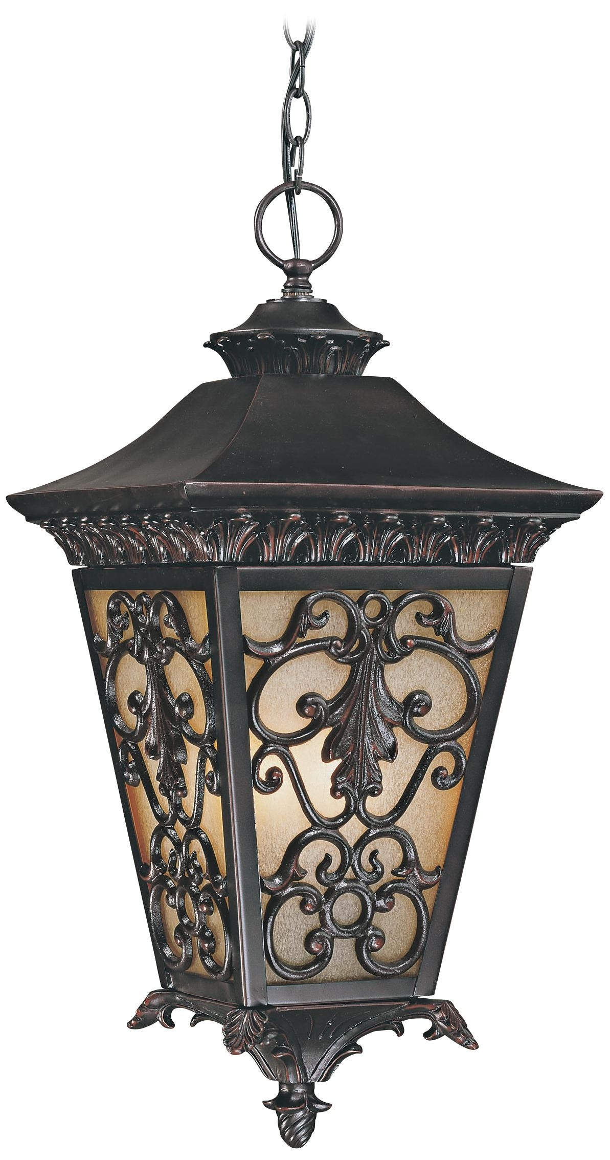 Bientina Collection 23 1/4 High Outdoor Hanging Light – | Tuscan Old With Outdoor Lighting Pendant Fixtures (#7 of 15)