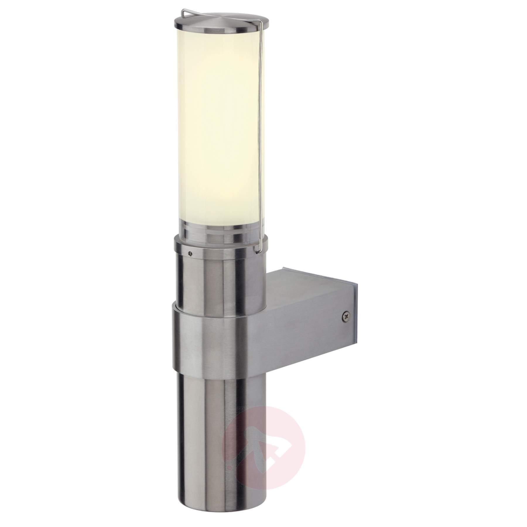 Big Nails Wall Light Attractive, Stainless Steel Outdoor Wall Lights For Big Outdoor Wall Lighting (#4 of 15)
