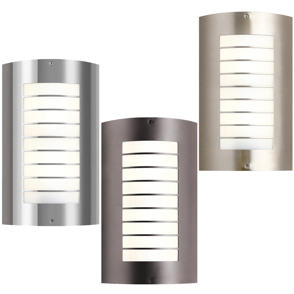 Black Contemporary Outdoor Lighting – Spurinteractive With Regard To Modern And Contemporary Outdoor Lighting Sconces (View 2 of 15)
