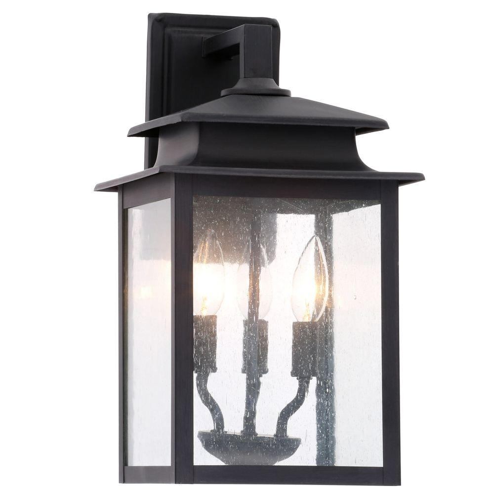 Black Exterior Lights – Dayri With Large Outdoor Wall Lighting (#4 of 15)