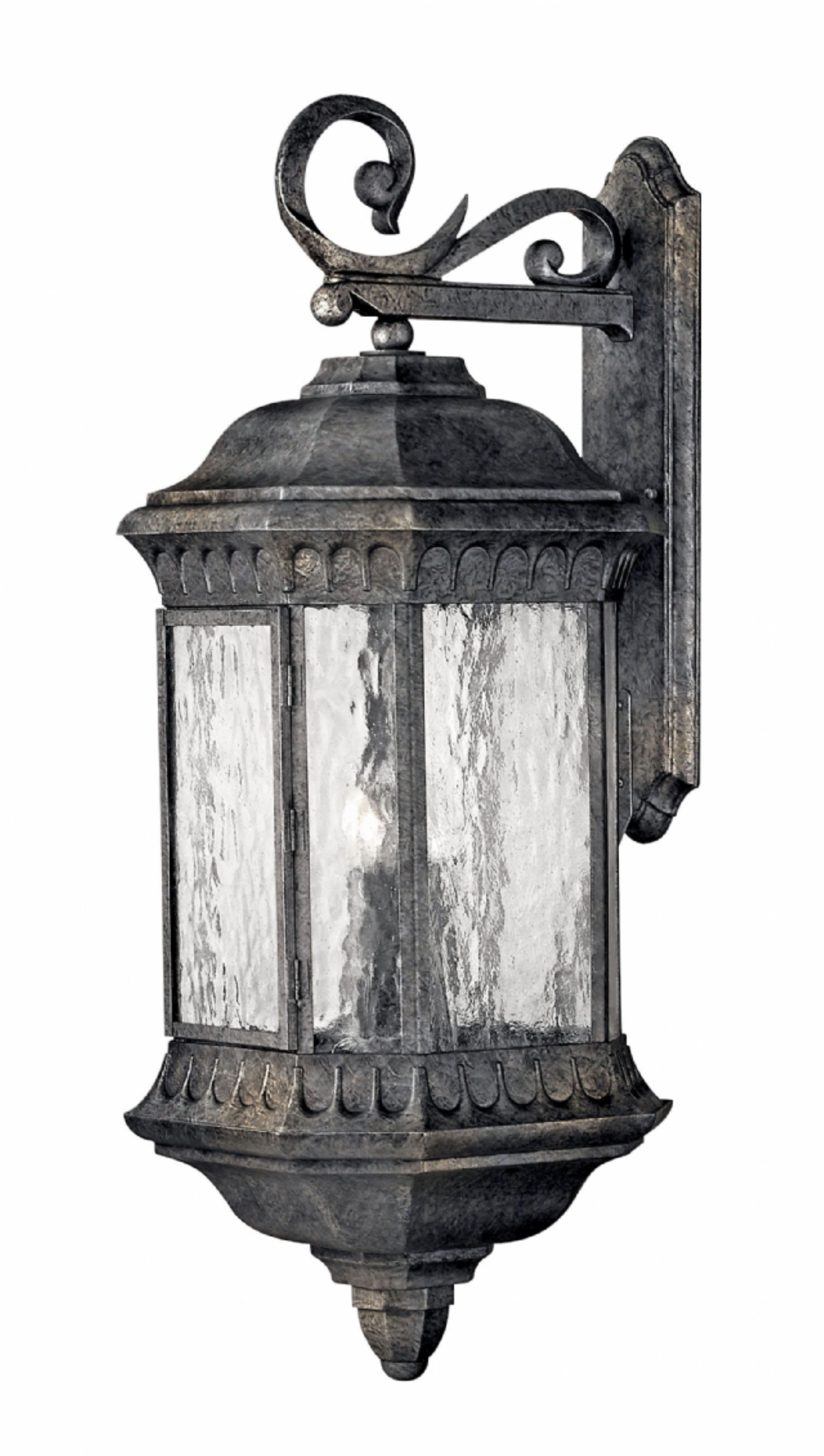 Black Granite Regal > Exterior Wall Mount Pertaining To Large Wall Mount Hinkley Lighting (#2 of 15)