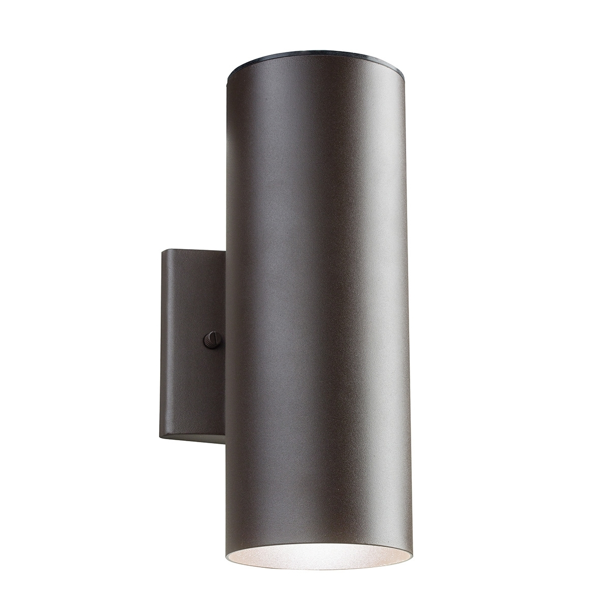 Black Up And Down Led Wall Lights • Led Lights Decor Regarding Outdoor Led Wall Lighting (#5 of 15)