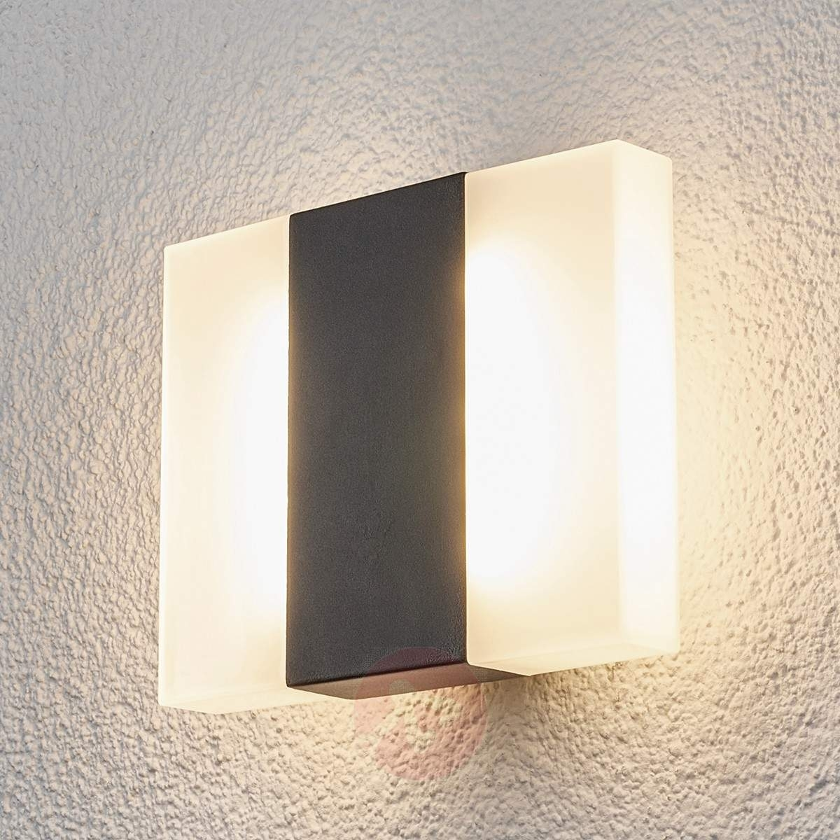 Börje – Led Outdoor Wall Light In A Square Shape | Lights (#6 of 15)