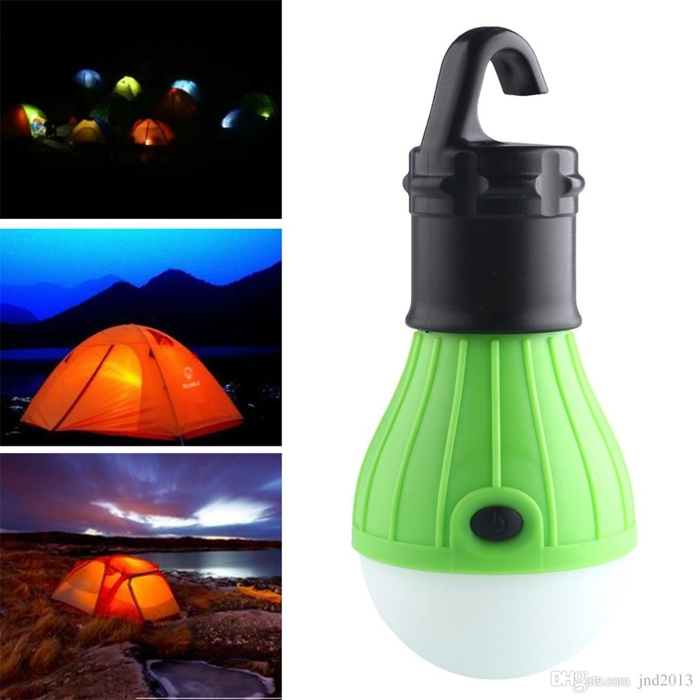 Brand New And High Quality Plastic Outdoor Hanging 3Led Camping Tent Inside Outdoor Hanging Plastic Lanterns (#2 of 15)