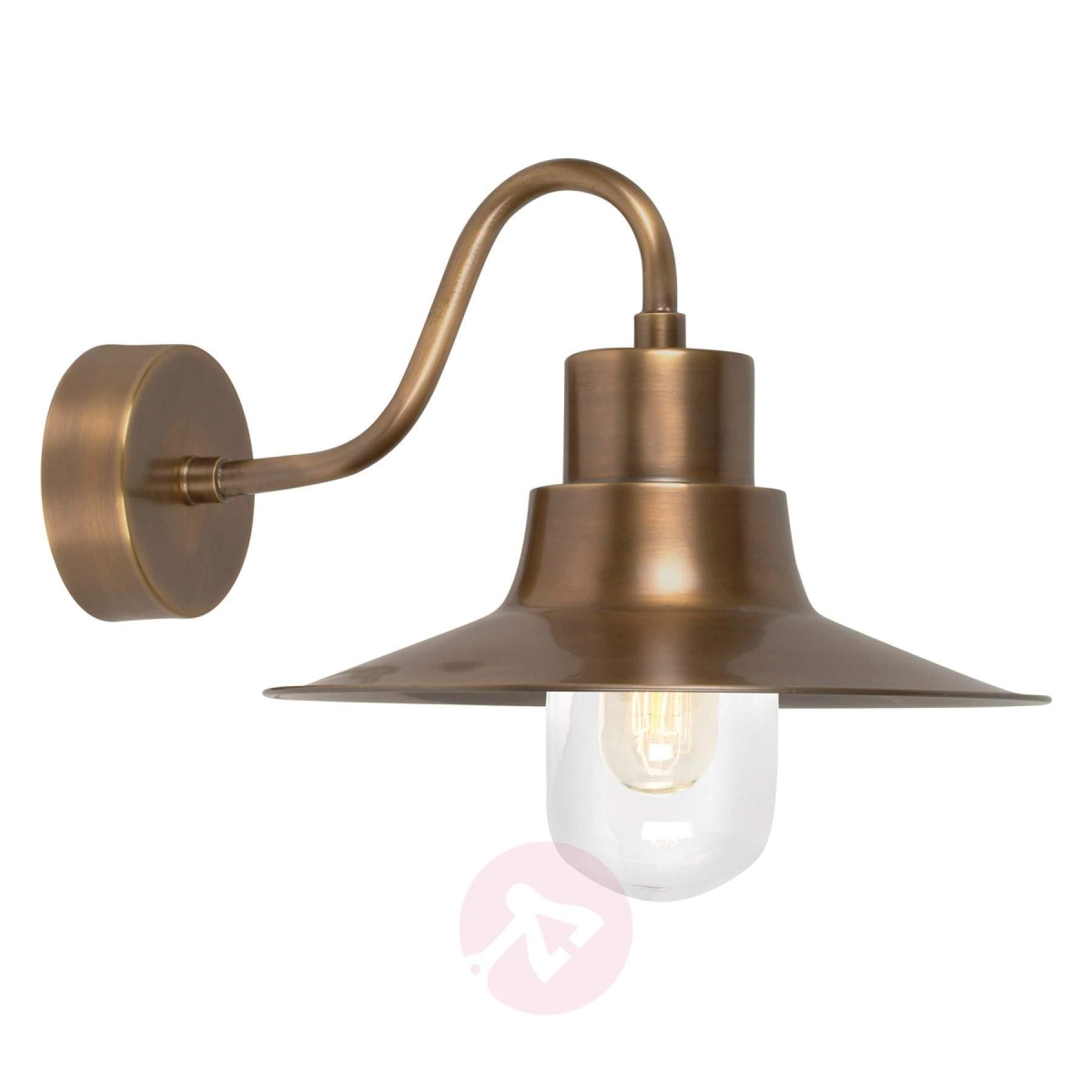 Brass Outdoor Wall Lamp Sheldon | Lights.co (#6 of 15)