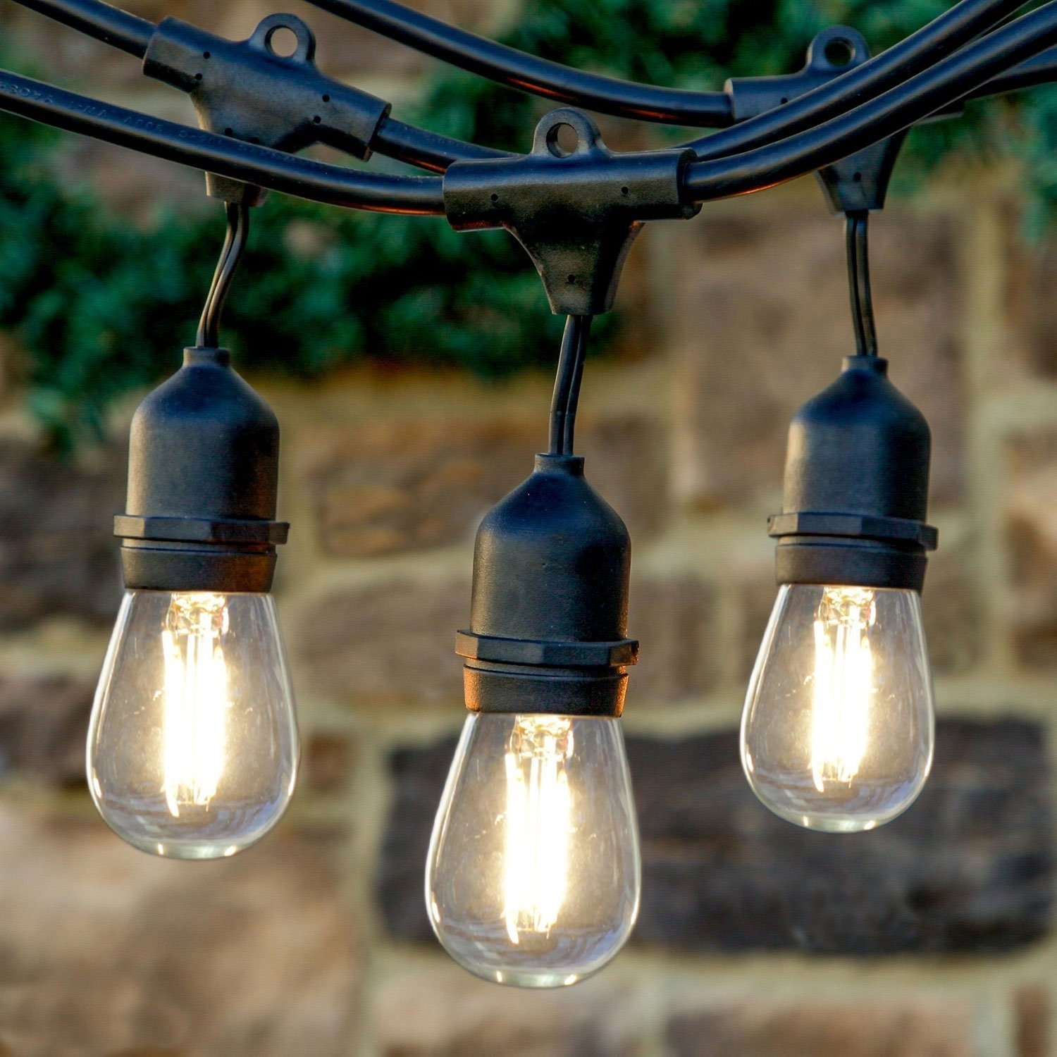 Brightech | Wayfair With Regard To Contemporary Outdoor String Lights At Wayfair (#3 of 15)