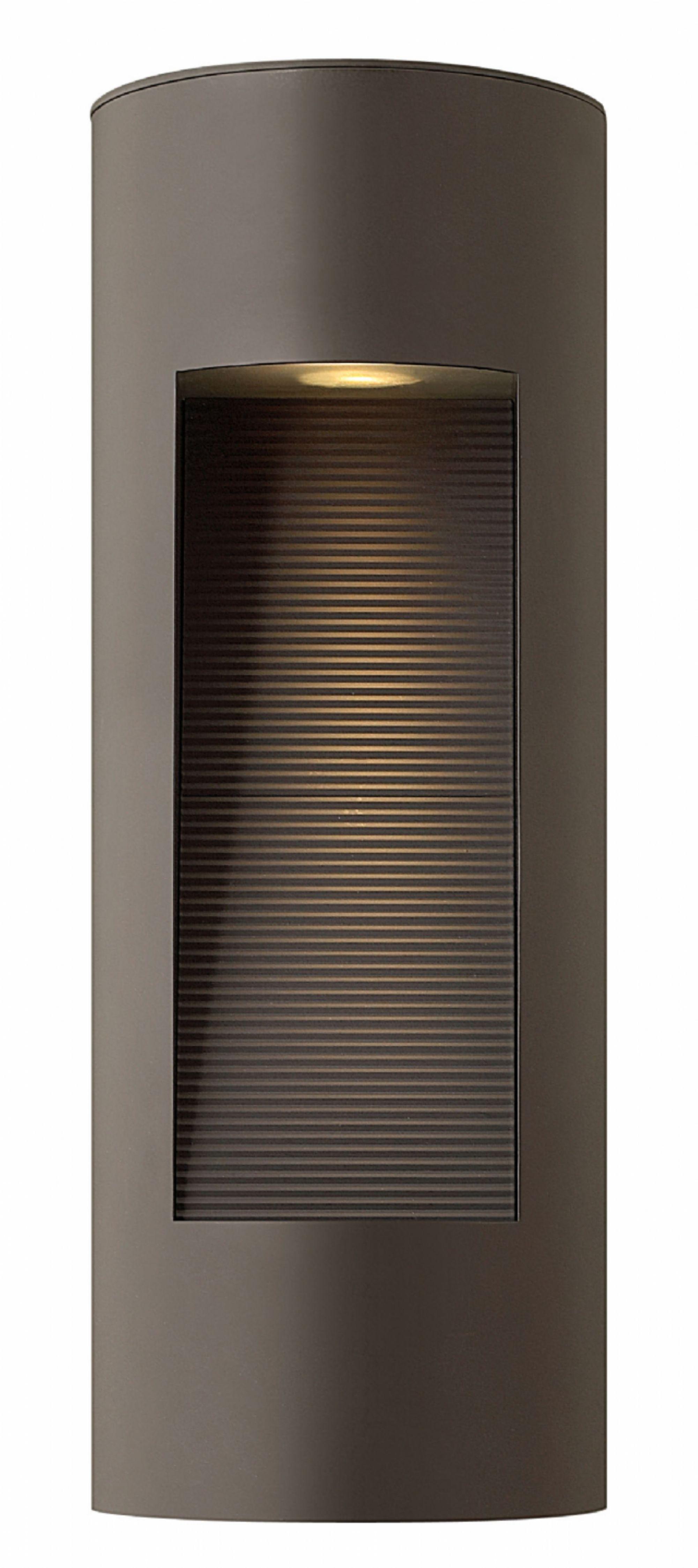Bronze Luna > Exterior Wall Mount Pertaining To Modern Outdoor Hinkley Lighting (#3 of 15)