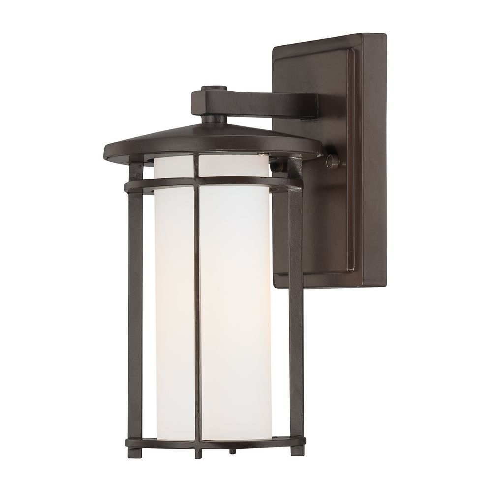 Bronze Outdoor Wall Light | 72311 615B | Destination Lighting With Bronze Outdoor Wall Lights (#4 of 15)
