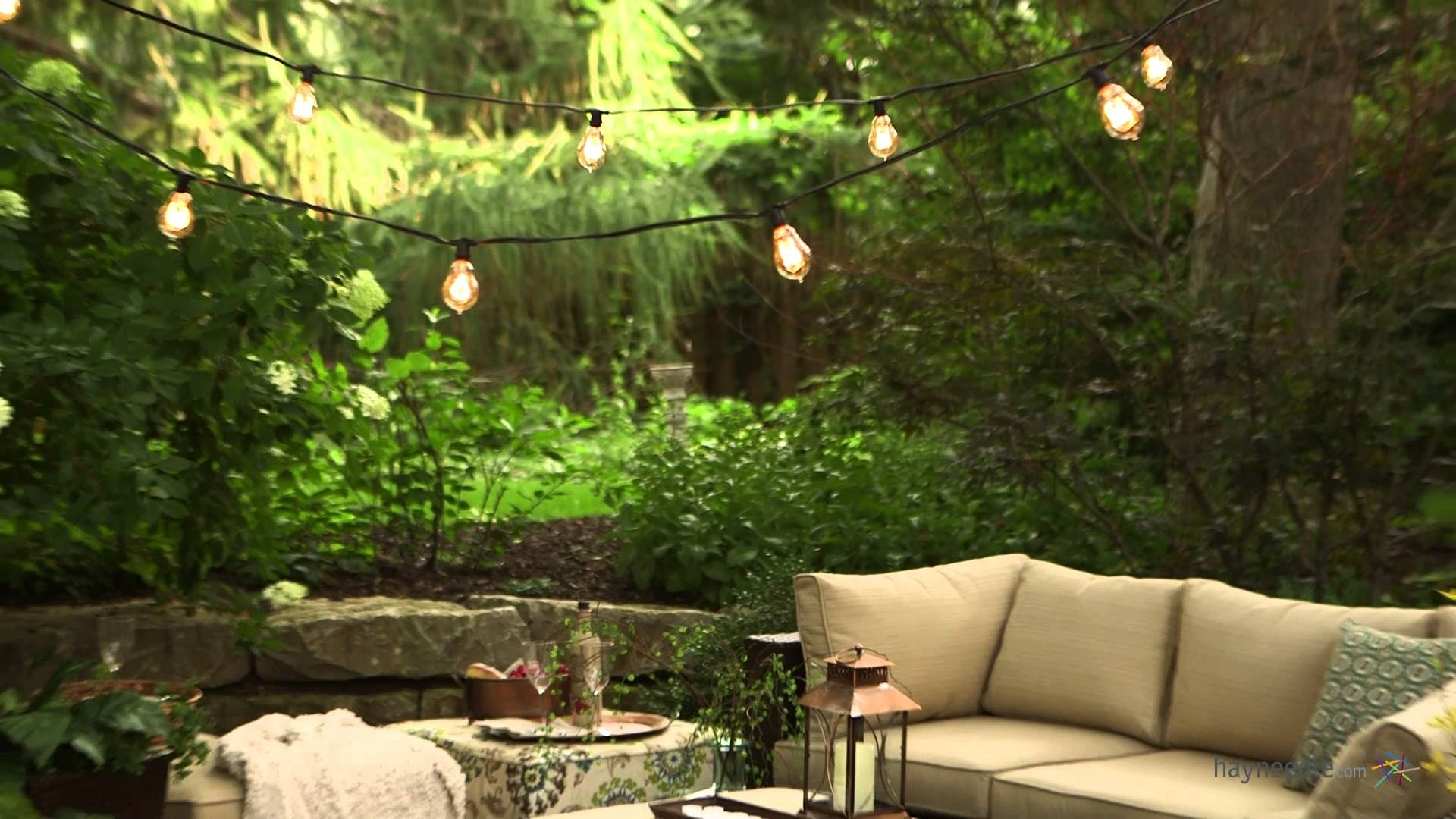 Bulbrite Outdoor String Light With Vintage Edison Bulbs – Product Pertaining To Outdoor Hanging Wall Lights (#3 of 18)