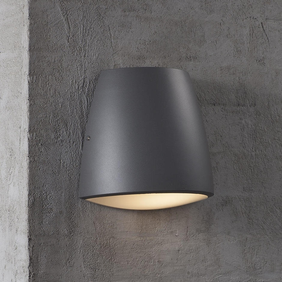 Inspiration about Buy Coxs Curved Outdoor Wall Lightingnordlux — The Worm That Throughout Grey Outdoor Wall Lights (#8 of 15)