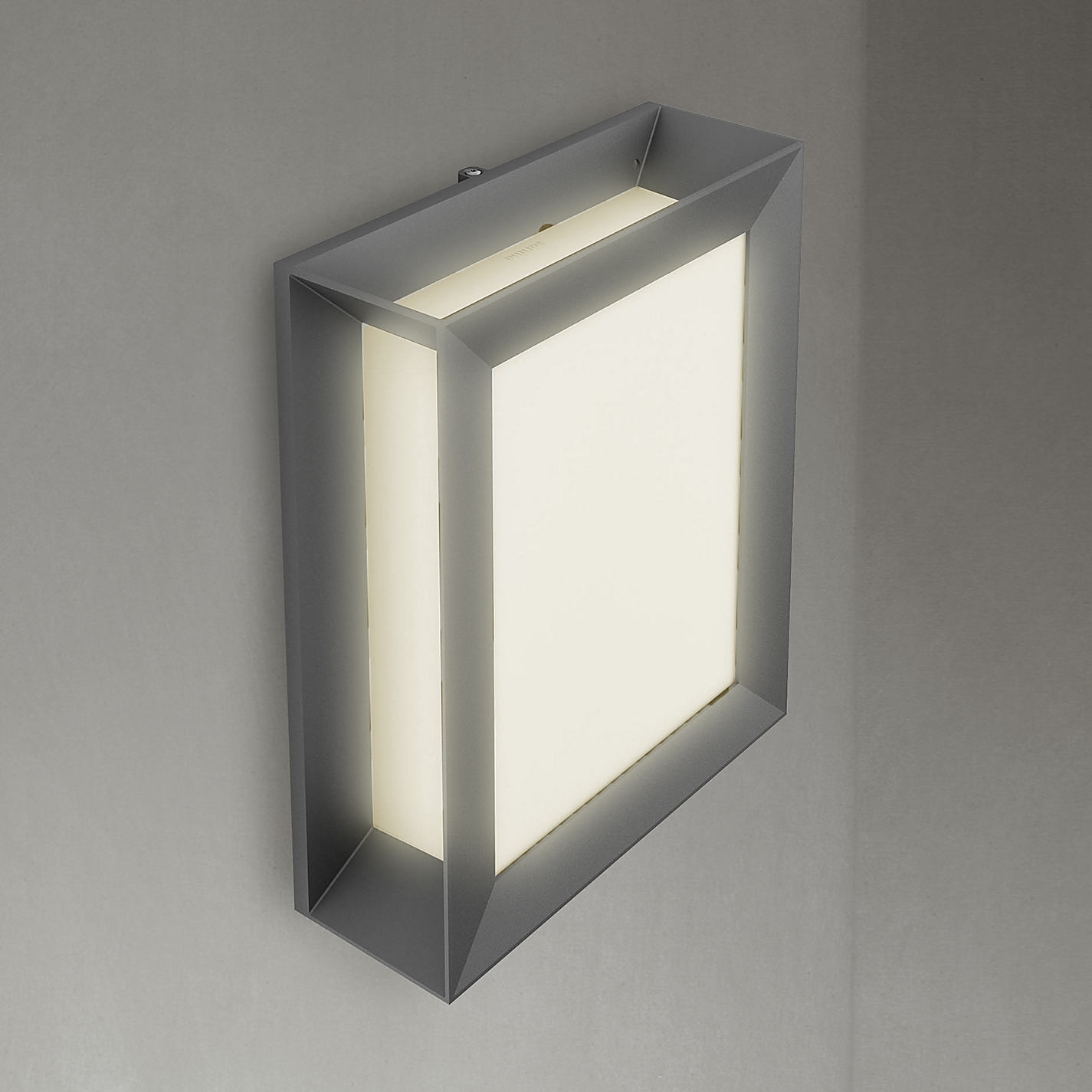 Buy Philips Karp Led Outdoor Wall Light Anthracite John Lewis For Ip65 Outdoor Wall Lights (View 7 of 15)
