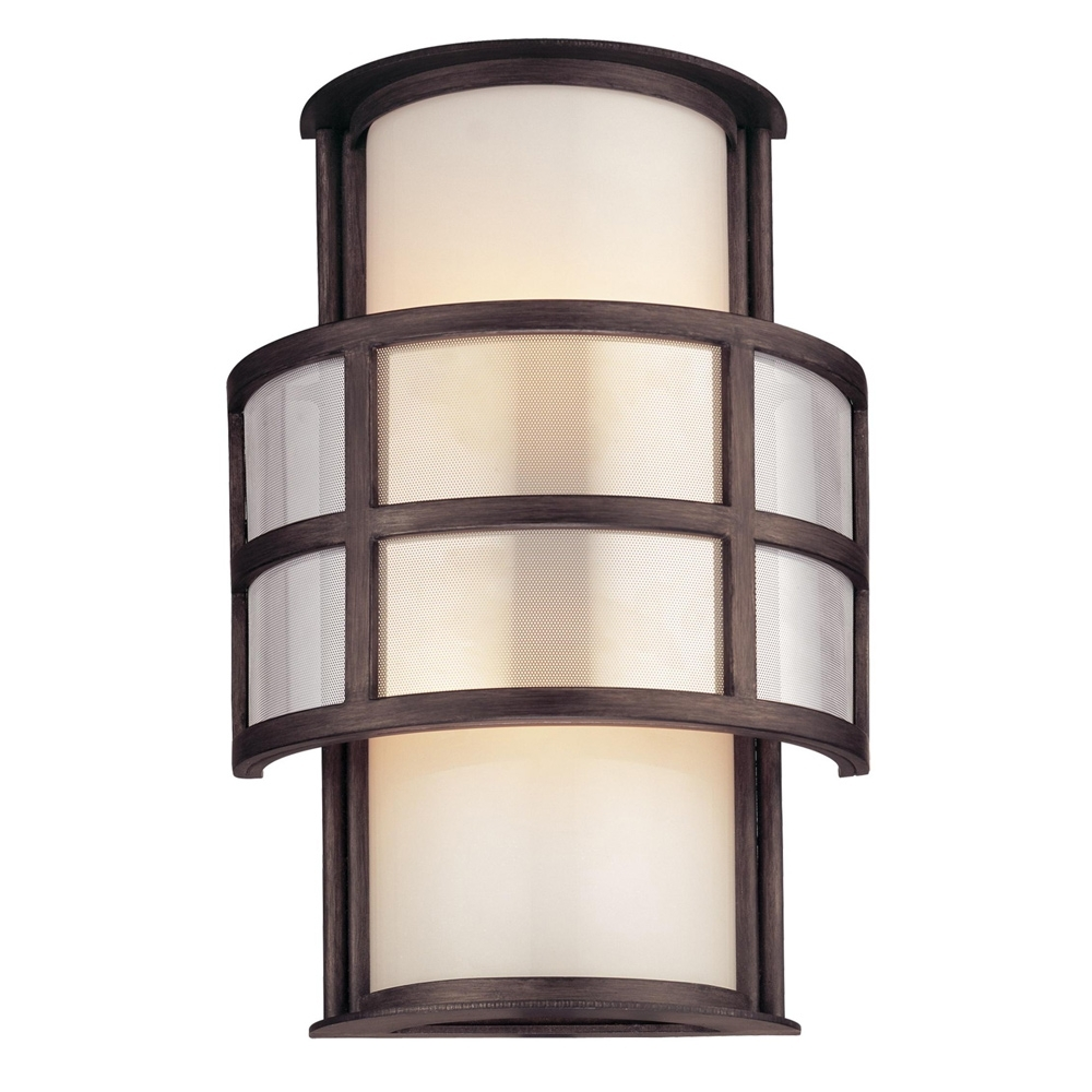 Buy The Discus Exterior 2 Light Wall Sconce – Small – Fluorescent With Troy Lighting Outdoor Wall Sconces (#1 of 15)