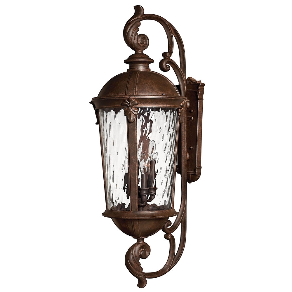 Popular Photo of Large Outdoor Wall Light Fixtures