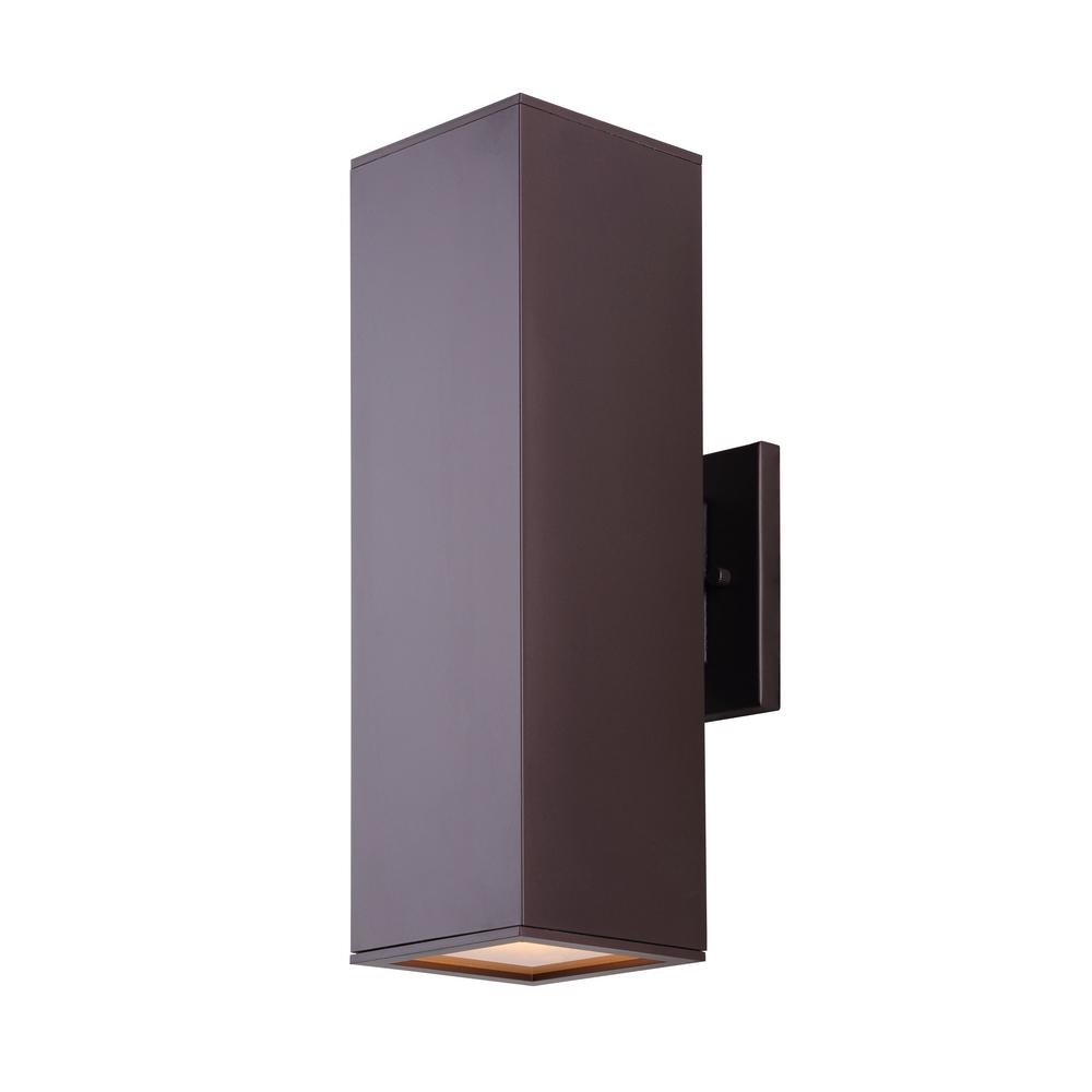 Canarm – Outdoor Wall Mounted Lighting – Outdoor Lighting – The Home In Rectangle Outdoor Wall Lights (#2 of 15)