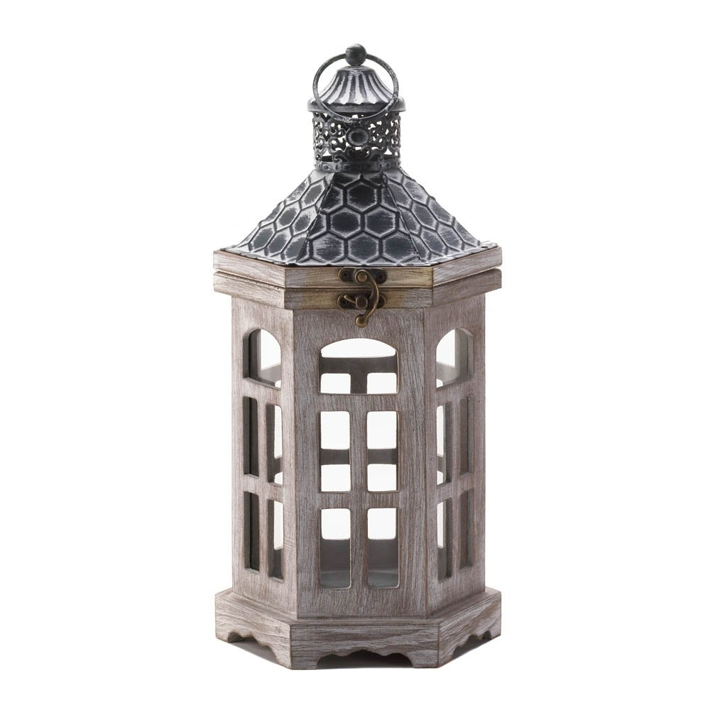 Candle Lantern Wood, Hanging Outdoor Lanterns For Candles – Pine Throughout Outdoor Hanging Lanterns For Candles (#2 of 15)