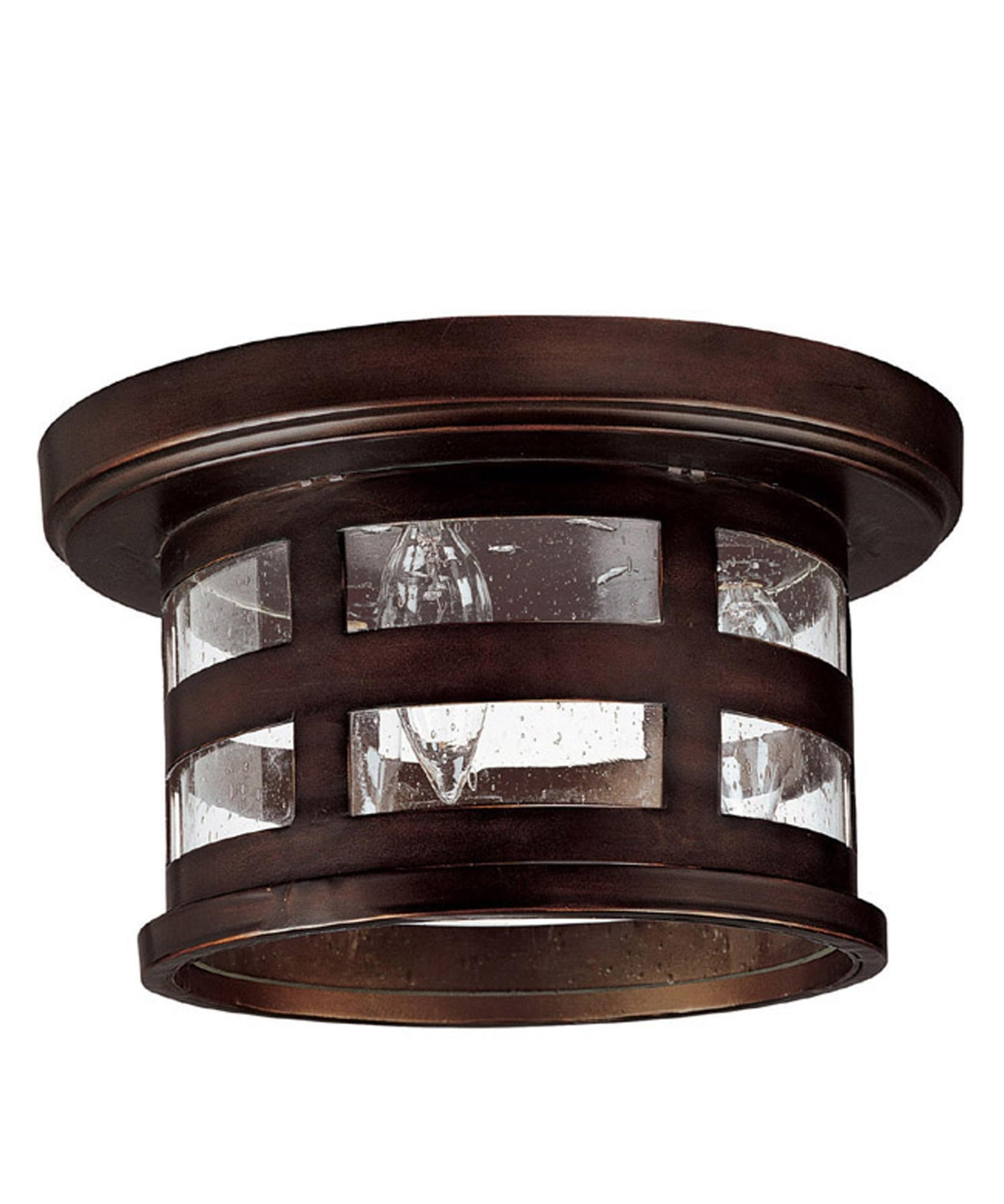 Capital Lighting 9956 Mission Hills 11 Inch Wide 3 Light Outdoor Throughout Bronze Outdoor Ceiling Lights (#4 of 15)