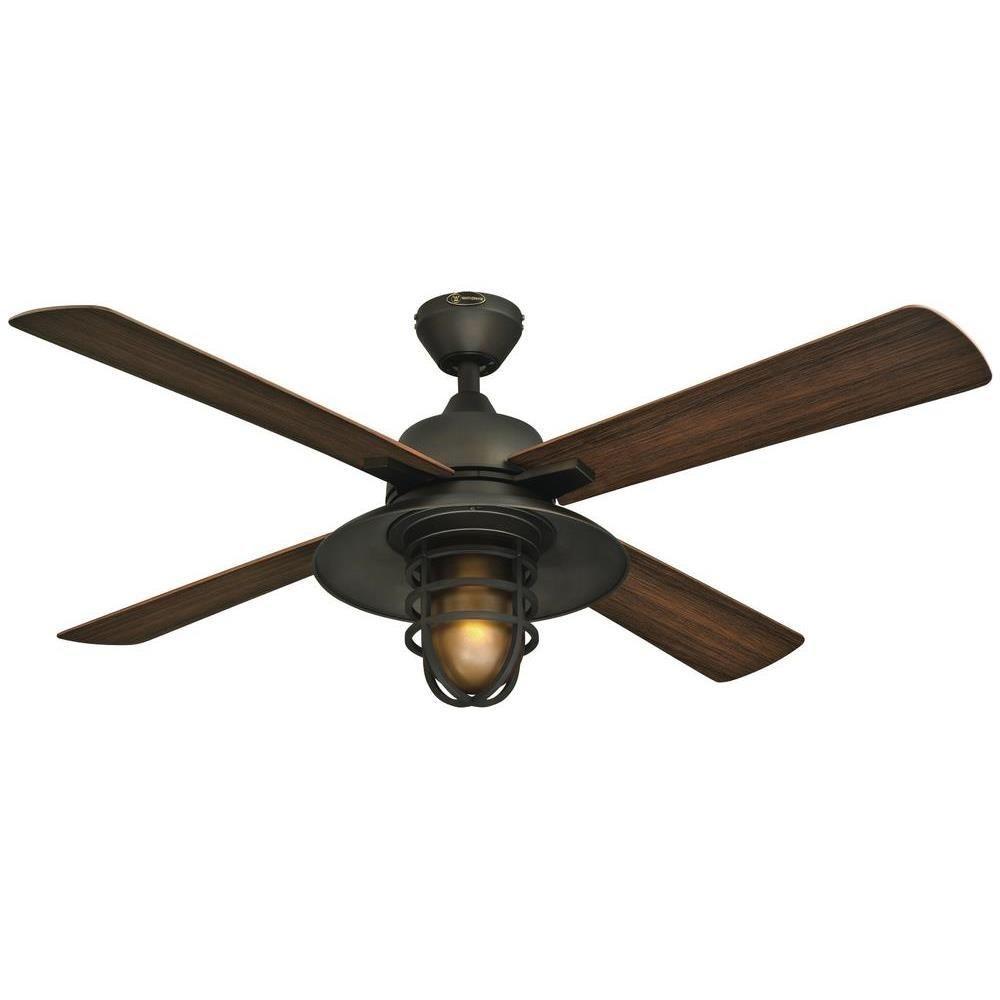 Ceiling Fan: Best Rated Outdoor Ceiling Fan With Light Lights Fans Within Wet Rated Outdoor Ceiling Lights (View 3 of 15)