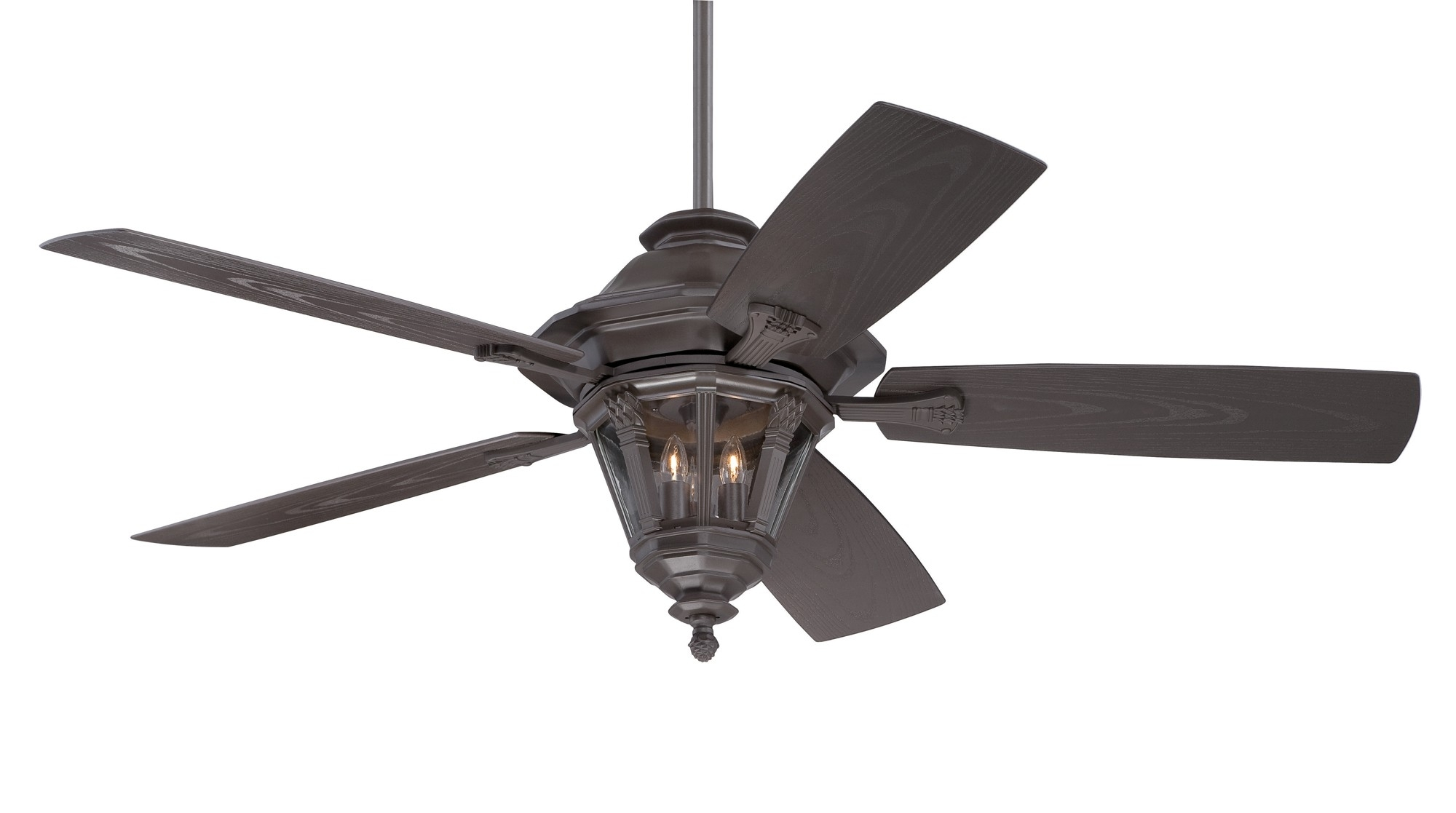 Ceiling Fan: Outdoor Ceiling Fans With Lights Wet Rated New Bronzeer For Outdoor Ceiling Fans With Wet Rated Lights (#4 of 15)