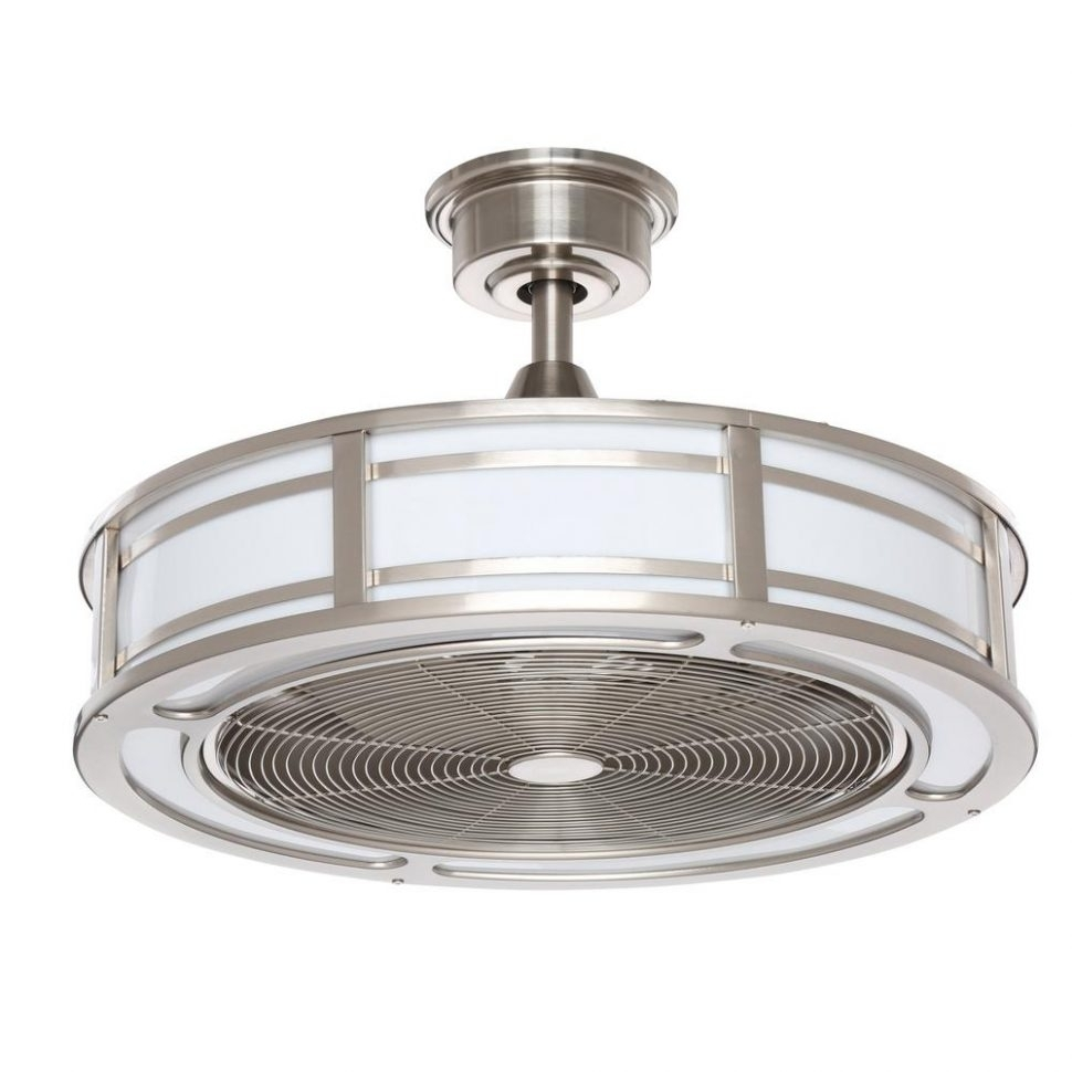 Ceiling Fan: Wet Rated Ceiling Fans With Light Outdoor White Fan In Outdoor Ceiling Fans With Wet Rated Lights (#5 of 15)