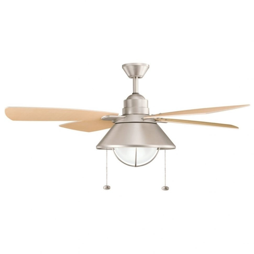 Ceiling Fans : Ideas Outdoor Ceiling Fans Wet Rated Fan Nautical Pertaining To Outdoor Ceiling Lights At Menards (#3 of 15)