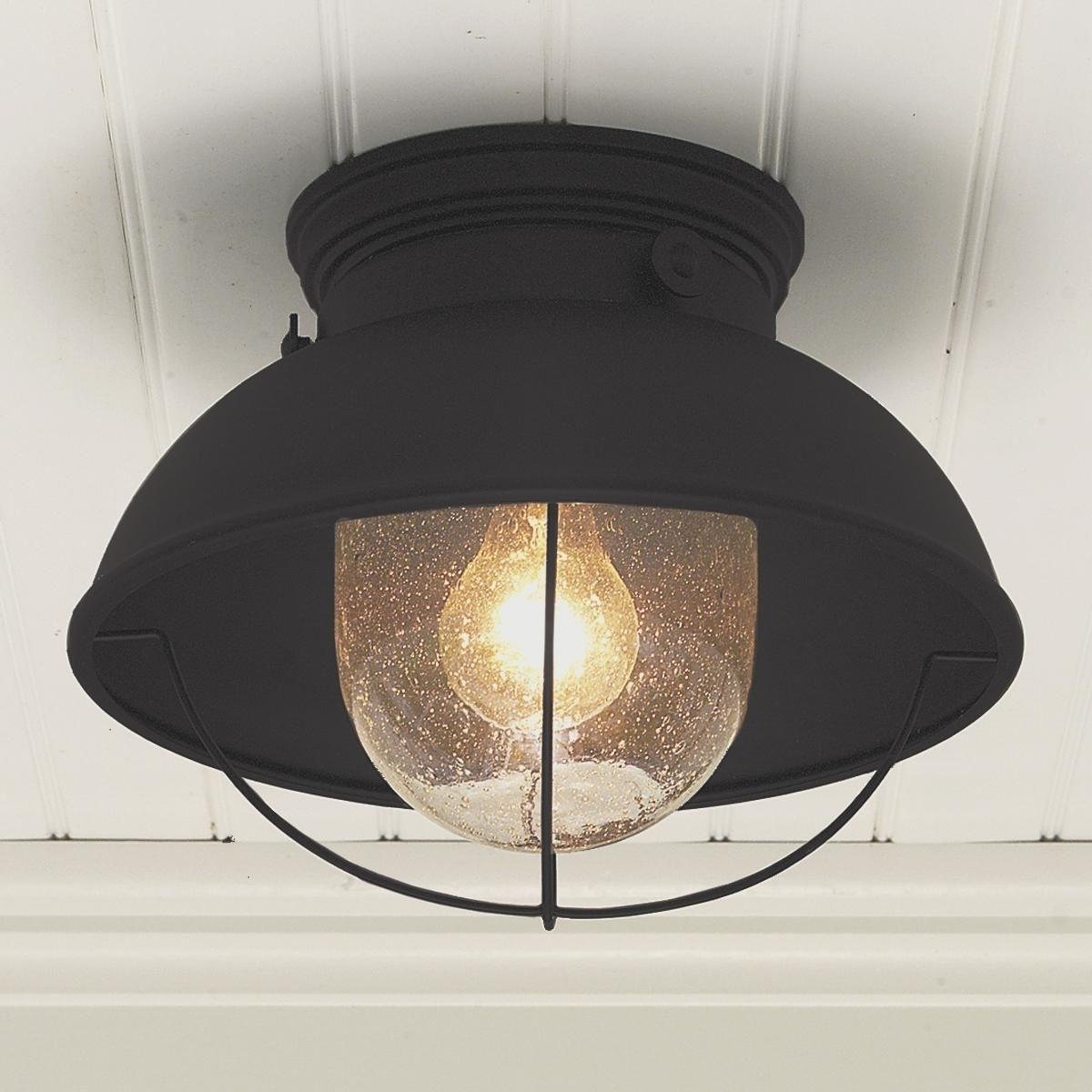 Ceiling Light : Ceiling Porch Lights Sensor Outdoor Ceiling Fan Throughout Outdoor Ceiling Downlights (#2 of 15)