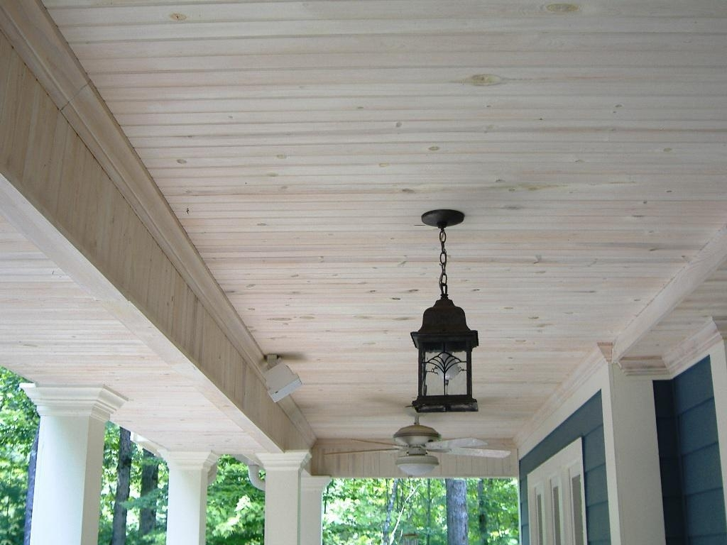 Ceiling Outdoor Lights For Front Porch: Front Porch Ceiling Idea Inside Ceiling Outdoor Lights For Front Porch (#2 of 15)