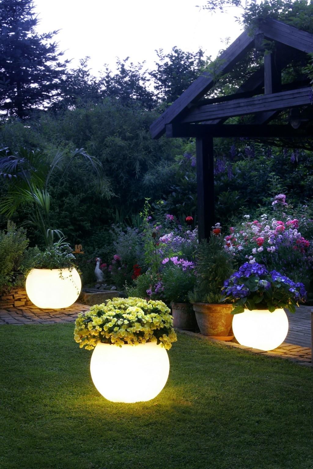 Certified Lighting | Garden Lighting In Modern Small Outdoor Solar Lights (#4 of 15)
