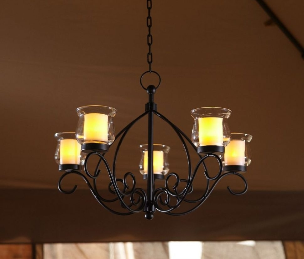 Chandeliers : Cotemporary Design Portable Outdoor Chandelier Photos Inside Outdoor Hanging Lights Masters (View 2 of 15)