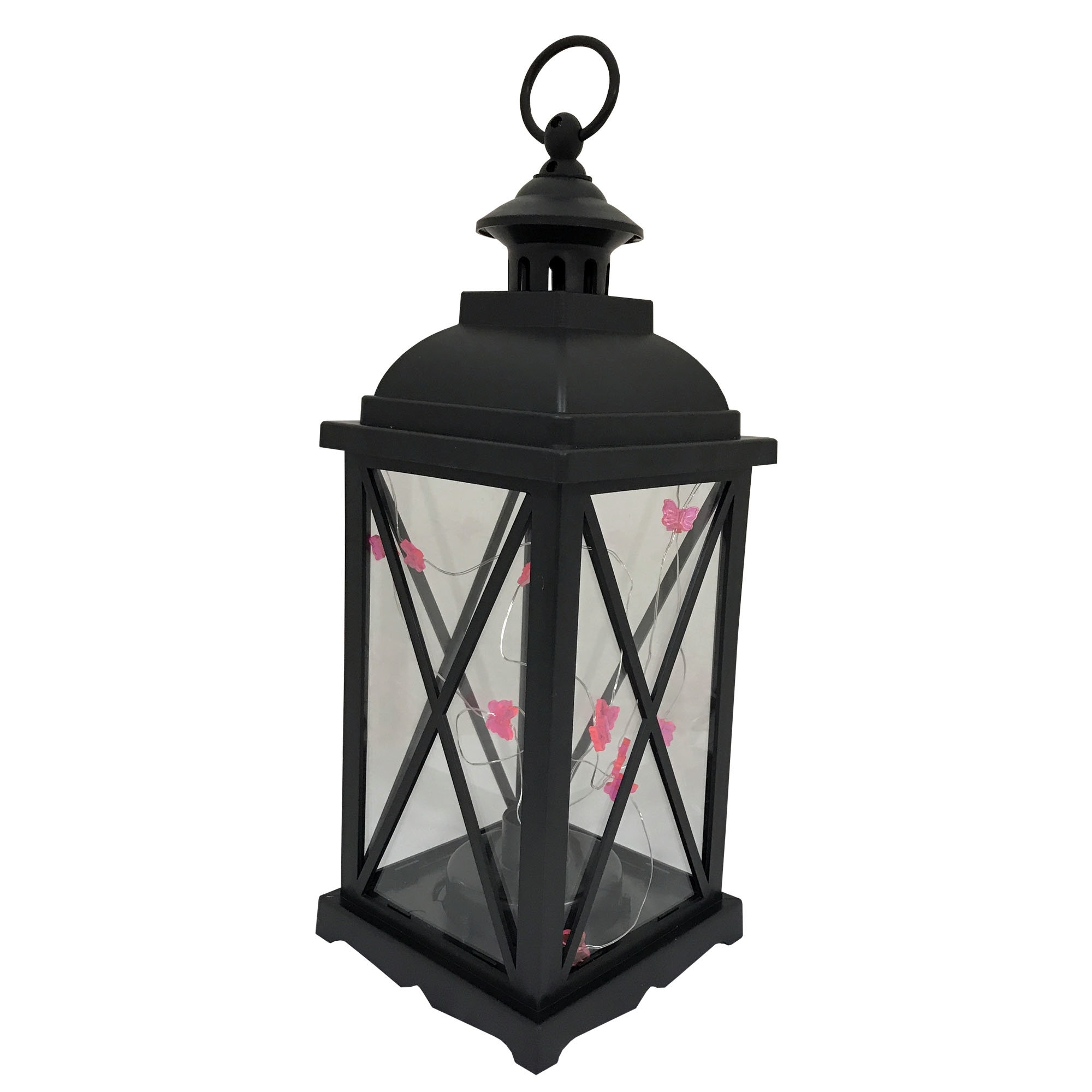 Charlton Home Kaneville Battery Operated 1 Light Led Outdoor Hanging For Outdoor Hanging Lanterns With Battery Operated (#8 of 15)