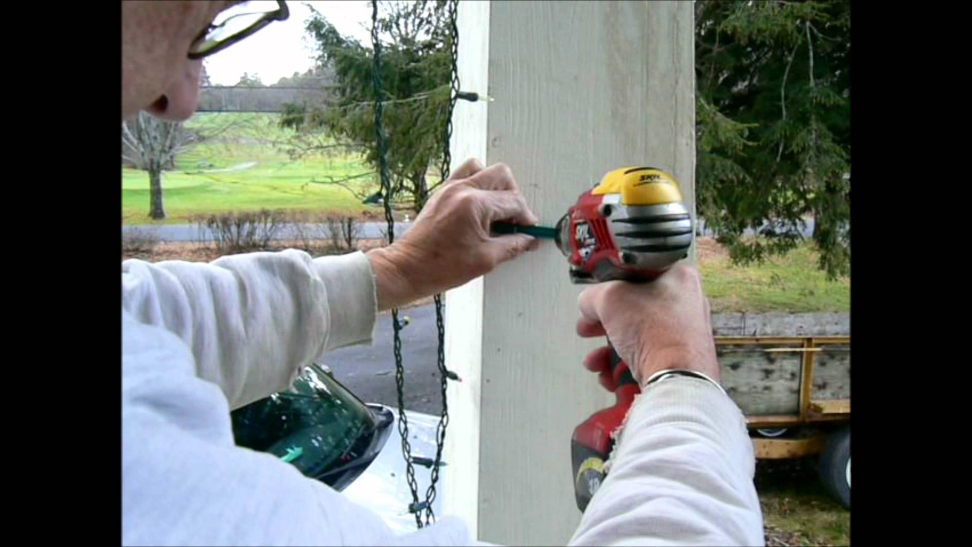 Christmas Lights : Engaging How To Hang Outdoor Christmas Lights With Regard To Hanging Outdoor Lights Without Nails (#5 of 15)