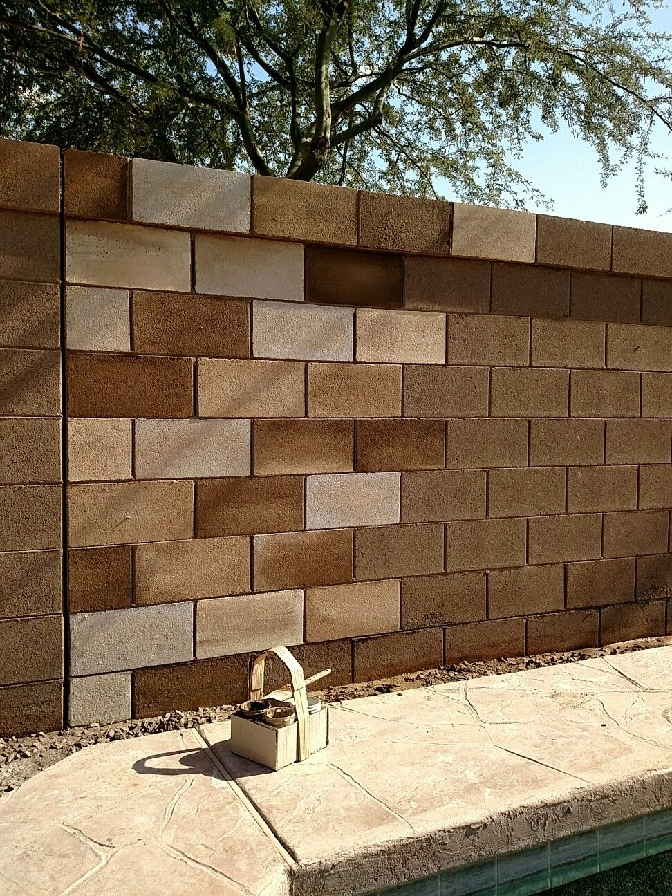 Cinder/ Hollow Block Wall (#3 of 15)