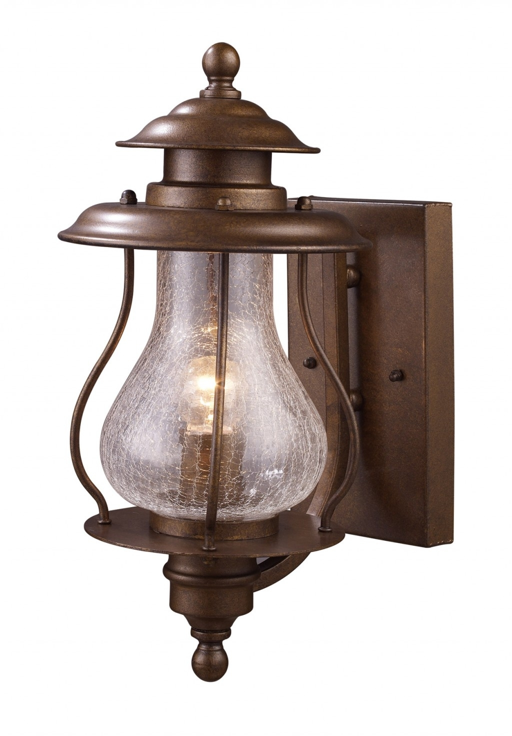 Inspiration about Classic Brushed Copper Exterior Lighting Wall Mounted Fixtures Intended For Outdoor Wall Mounted Decorative Lighting (#14 of 15)
