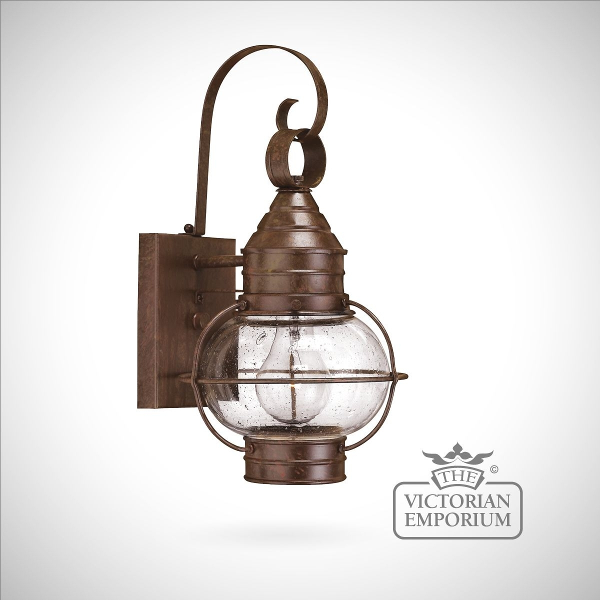 Classic Onion Wall Lantern In Sienna Bronze – Large | Outdoor Wall With Regard To Hanging Outdoor Onion Lights (#5 of 15)