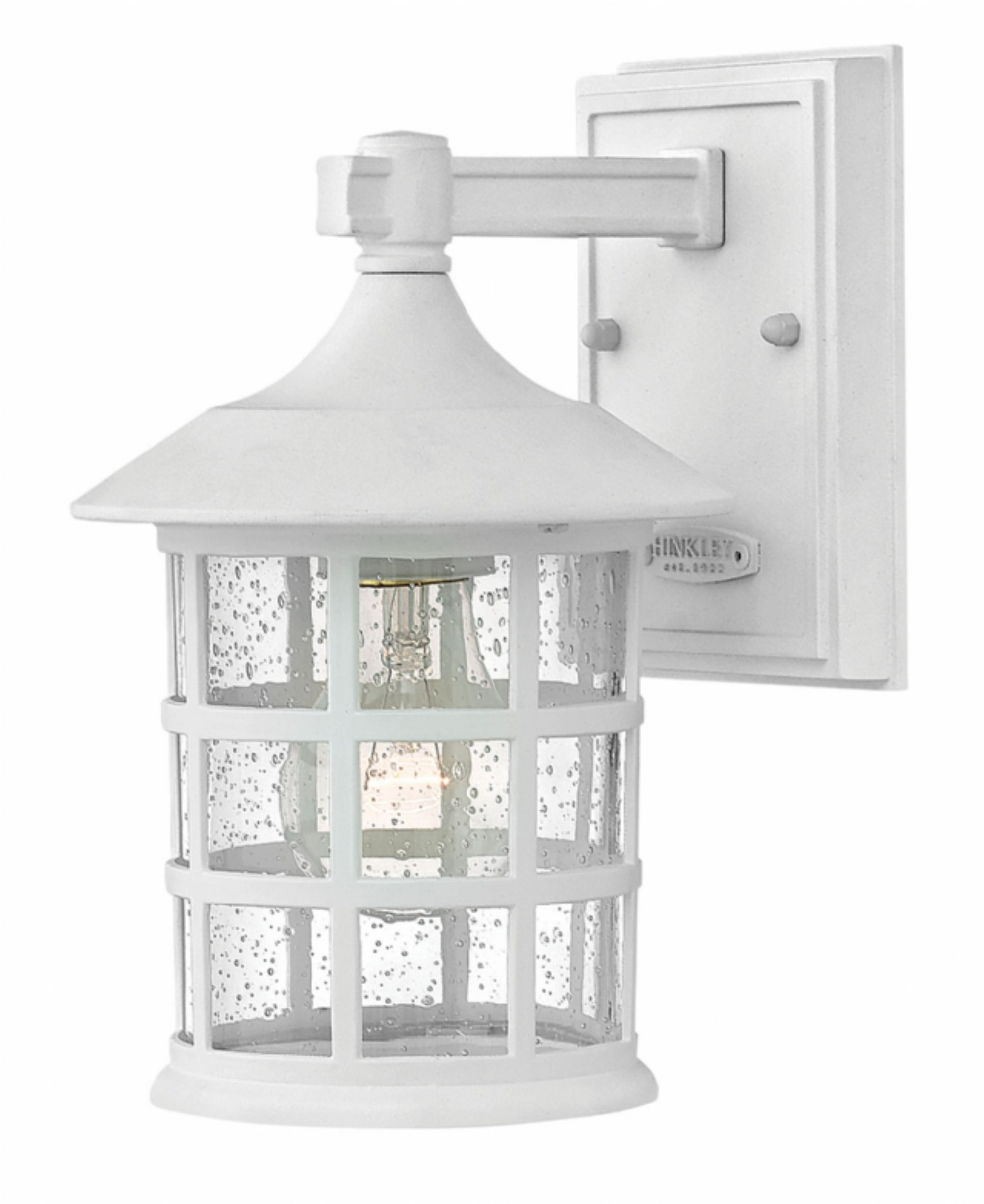Classic White Freeport > Exterior Wall Mount In White Outdoor Wall Lighting (#3 of 15)