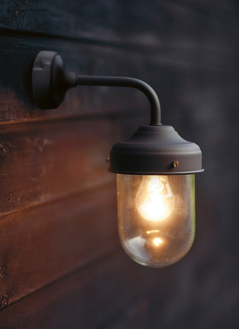 Coffee Bean Barn Lamp Is A Stylish, Durable Outdoor Garden Wall With Barn Outdoor Wall Lighting (#7 of 15)