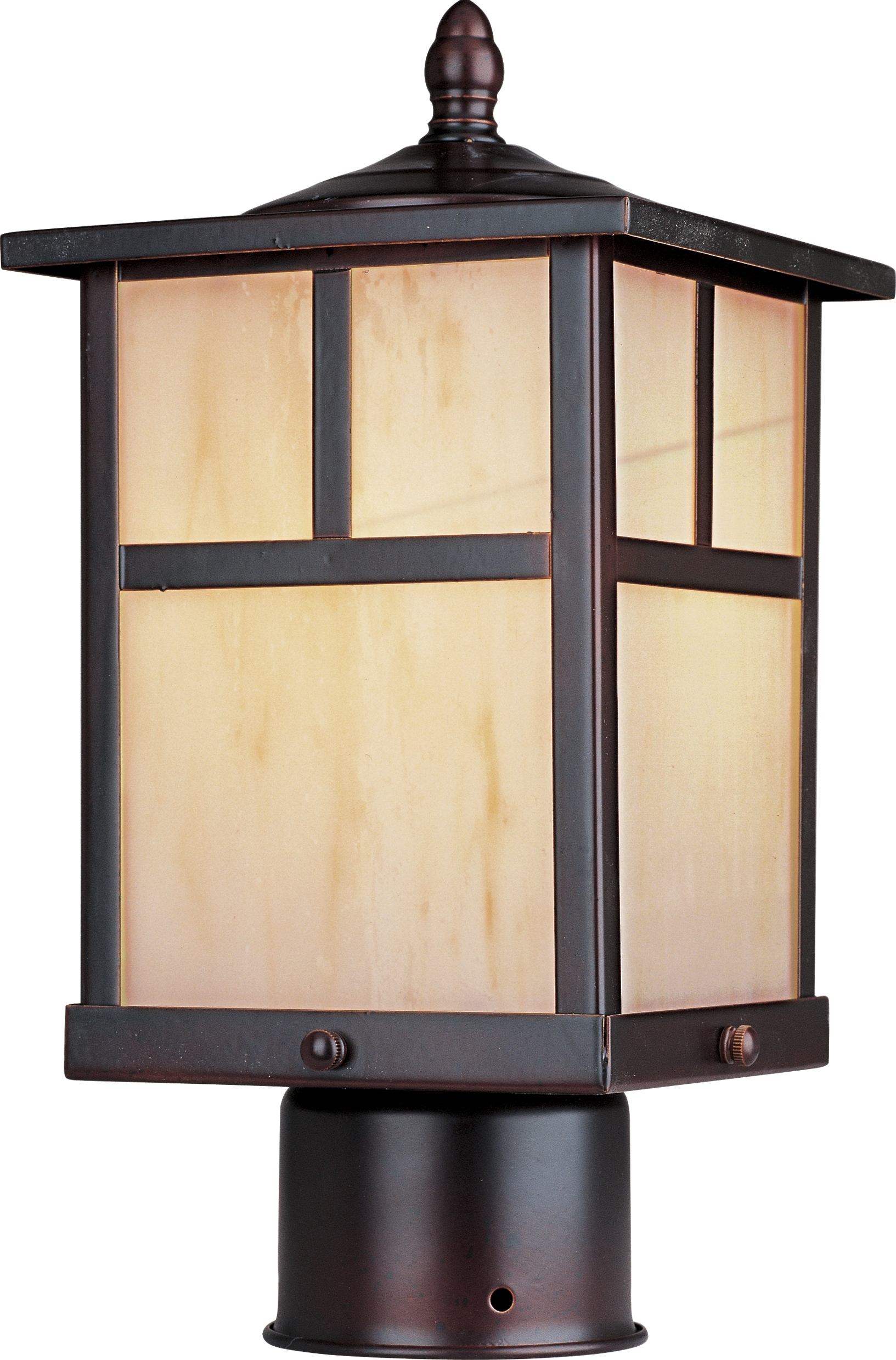 Coldwater Led 1 Light Outdoor Pole/post Lantern – Outdoor Pole/post With Modern Led Post Lights At  Home Depot (#1 of 15)