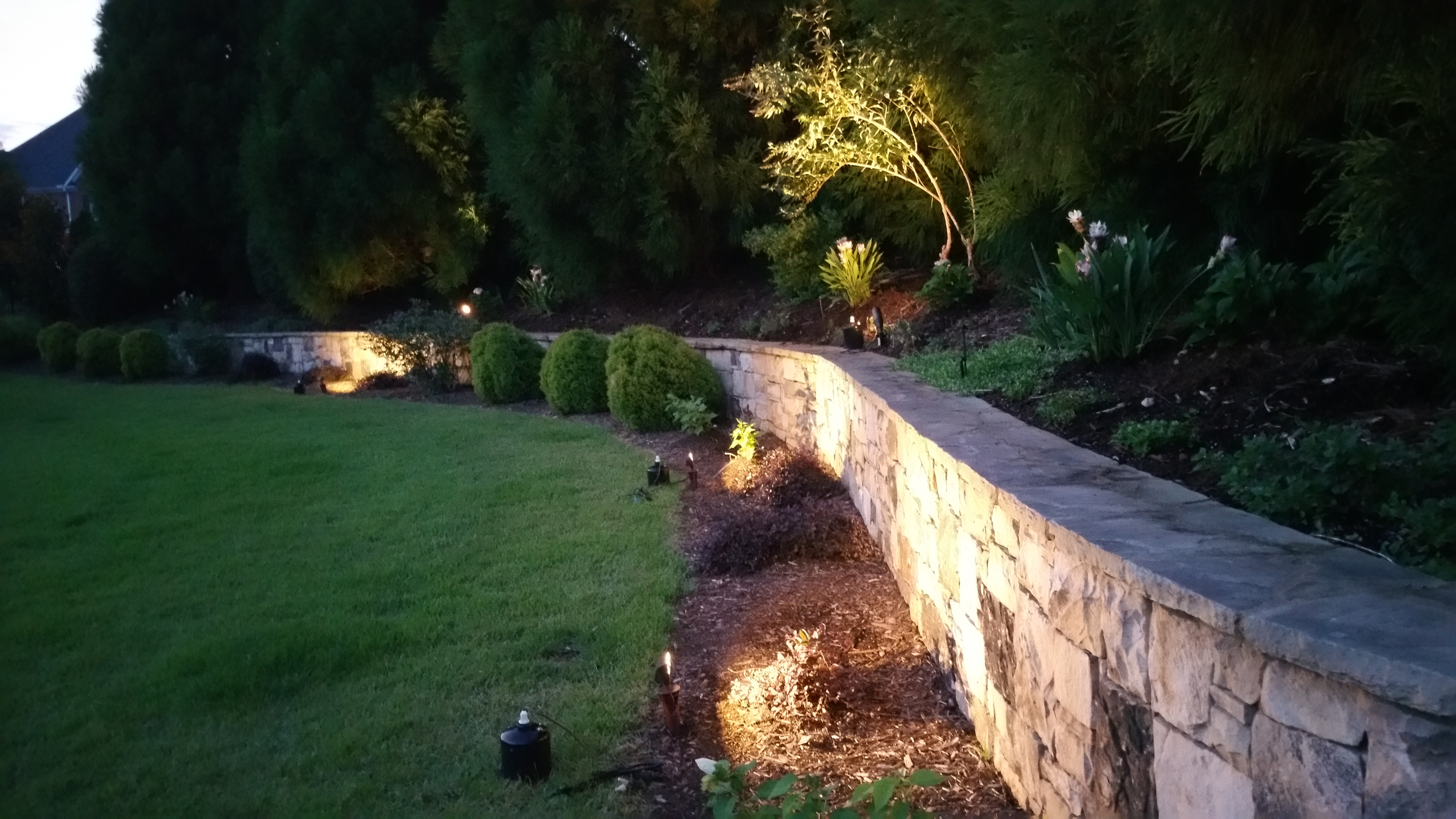 Complimentary Outdoor Lighting Night Demonstration In Seattle Throughout Outdoor Stone Wall Lighting (View 7 of 15)
