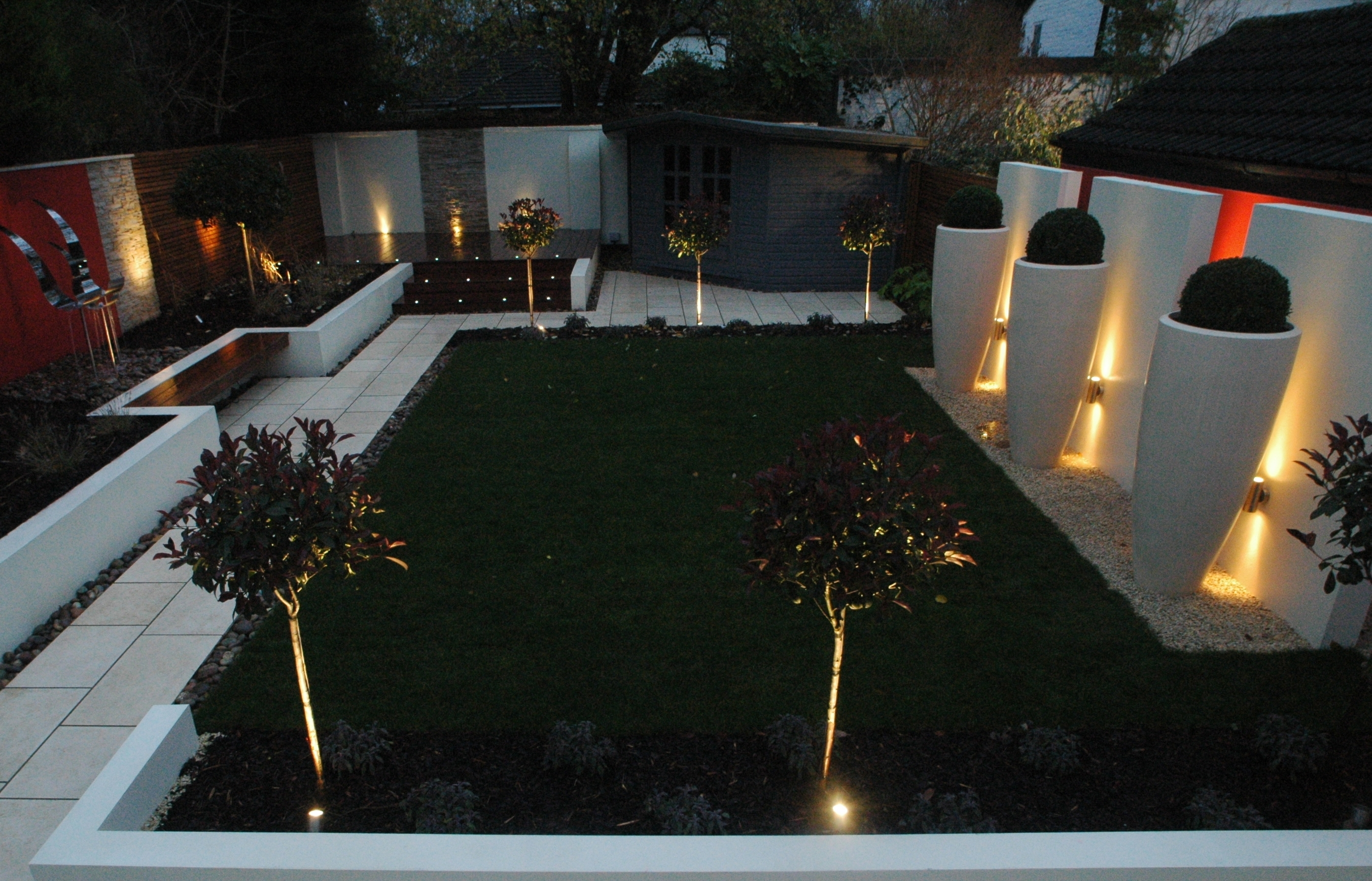 Contemporary Gardendavid Anderson | Outdoor Living | Pinterest With Modern Garden Landscape Lighting (#5 of 15)