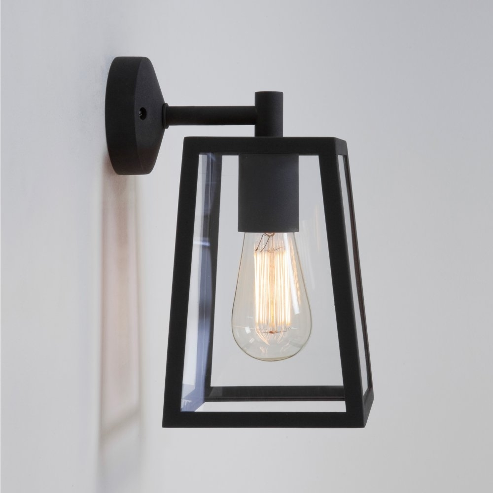 Contemporary Outdoor Wall Lights | Lighting And Ceiling Fans Pertaining To Contemporary Outdoor Wall Lighting Sconces (#3 of 15)