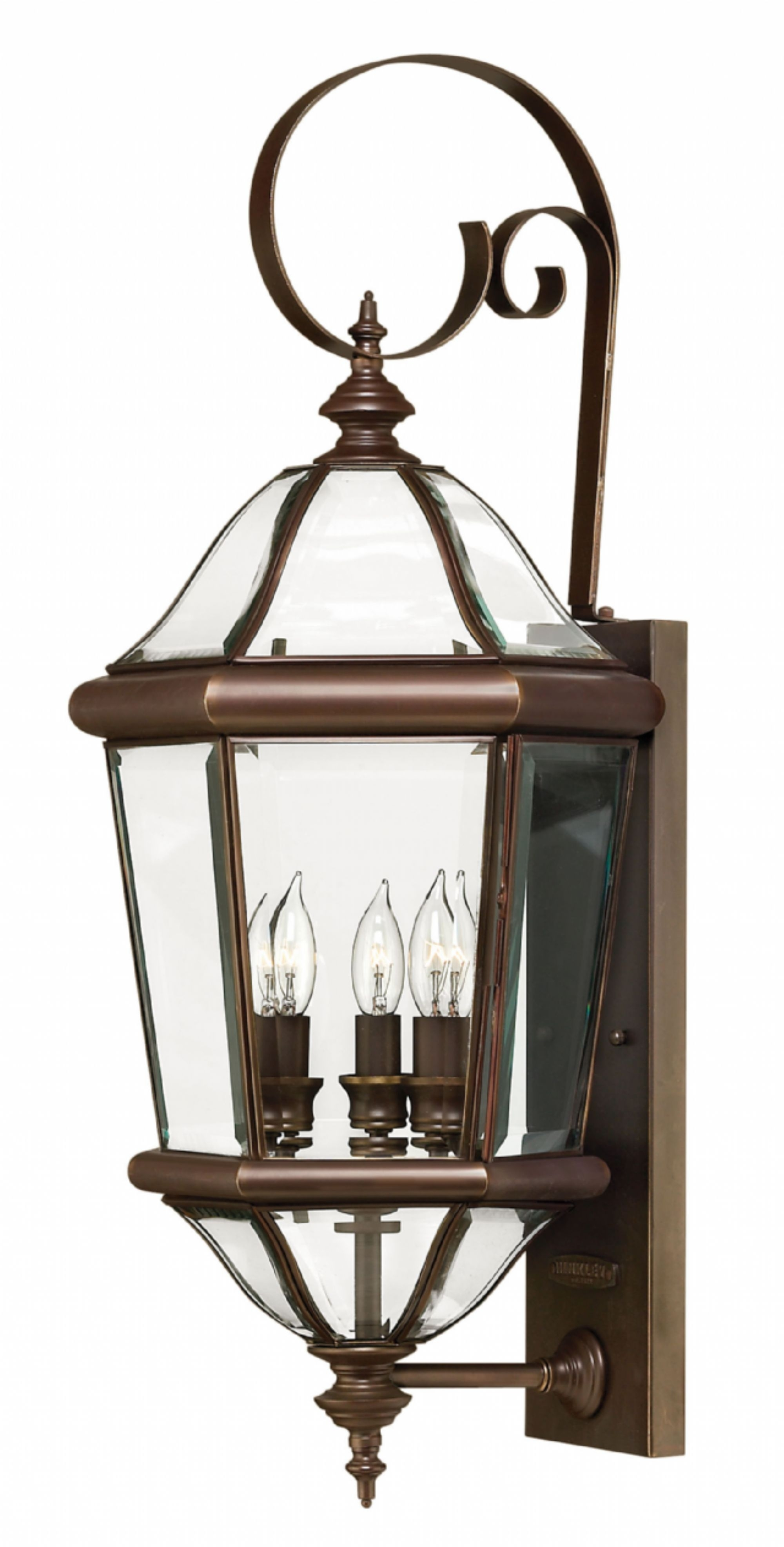 Copper Bronze Augusta > Exterior Wall Mount For Extra Large Wall Mount Porch Hinkley Lighting (#7 of 15)