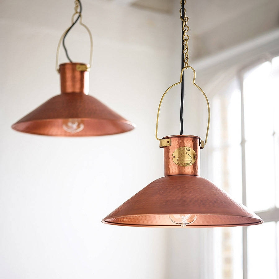 Copper Ceiling Lights With Regard To John Lewis Outdoor Ceiling Lights (View 8 of 15)