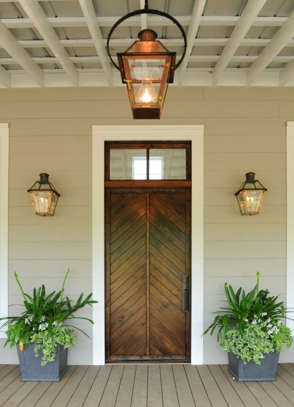 Copper Porch Light Fixtures Rustic Hanging – Teamns In Outdoor Hanging Gas Lights (View 4 of 15)