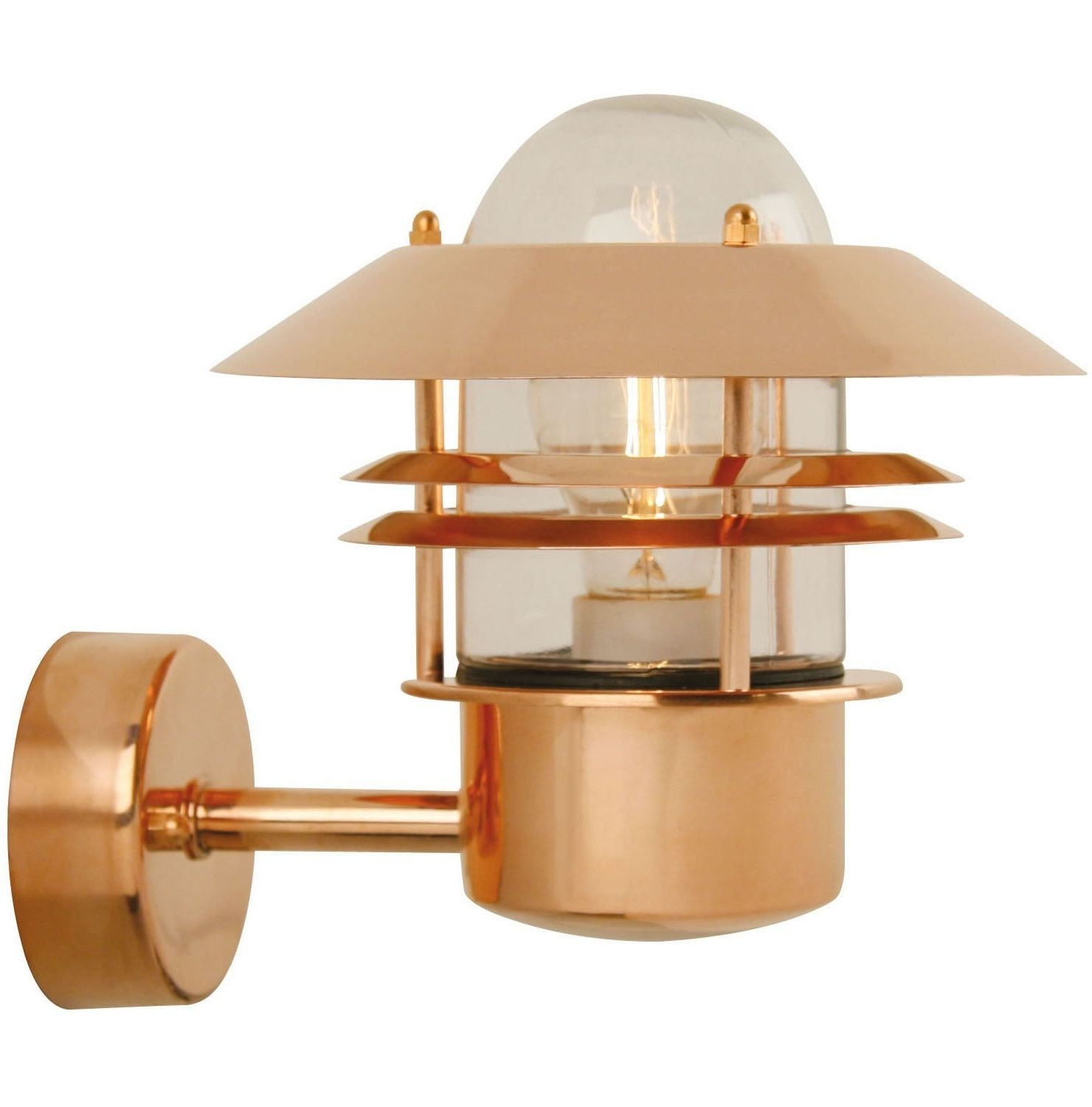 Copper Wall Light. £83.99 Http://www.worldstores.co (#4 of 15)