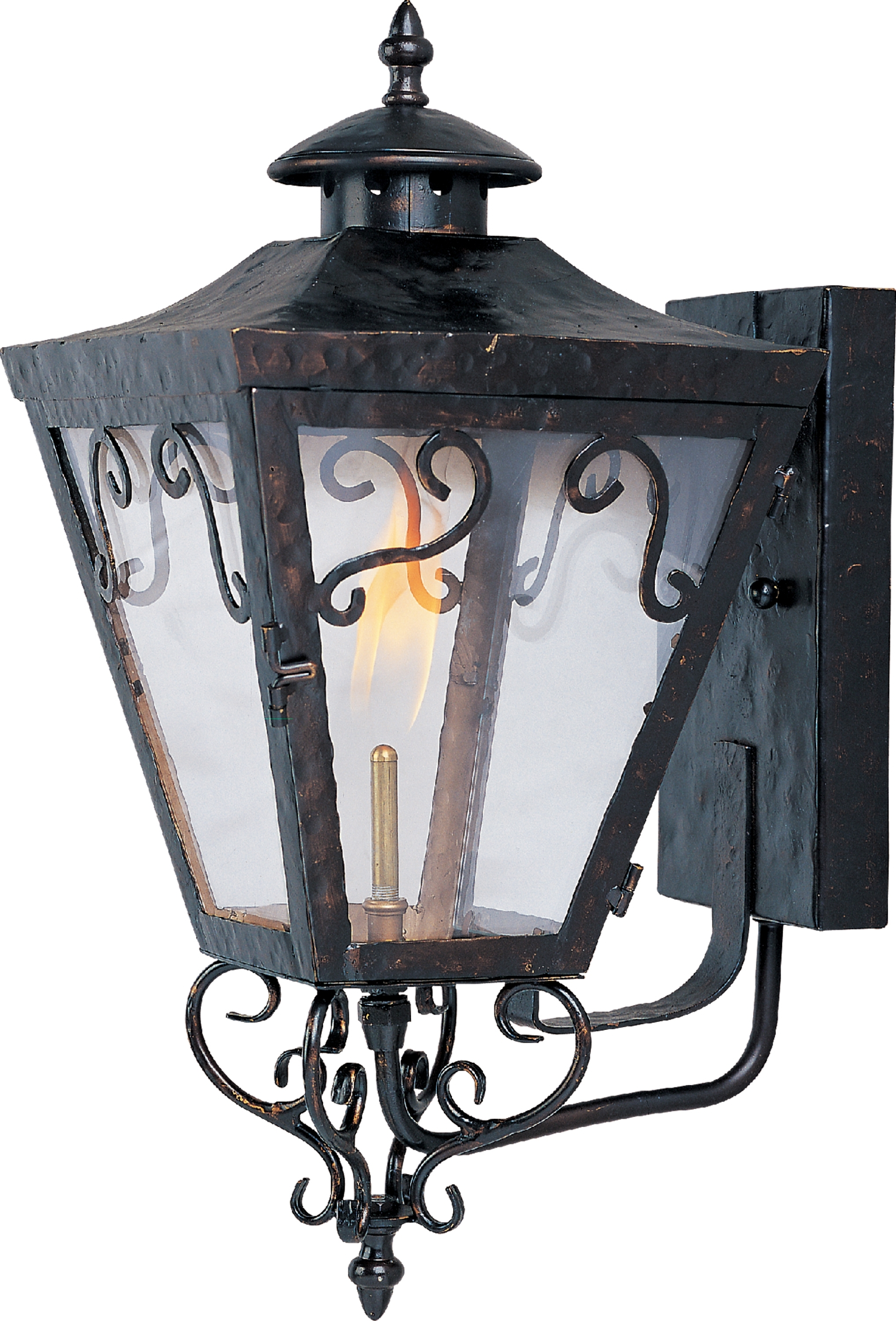 Popular Photo of Outdoor Wall Gas Lights
