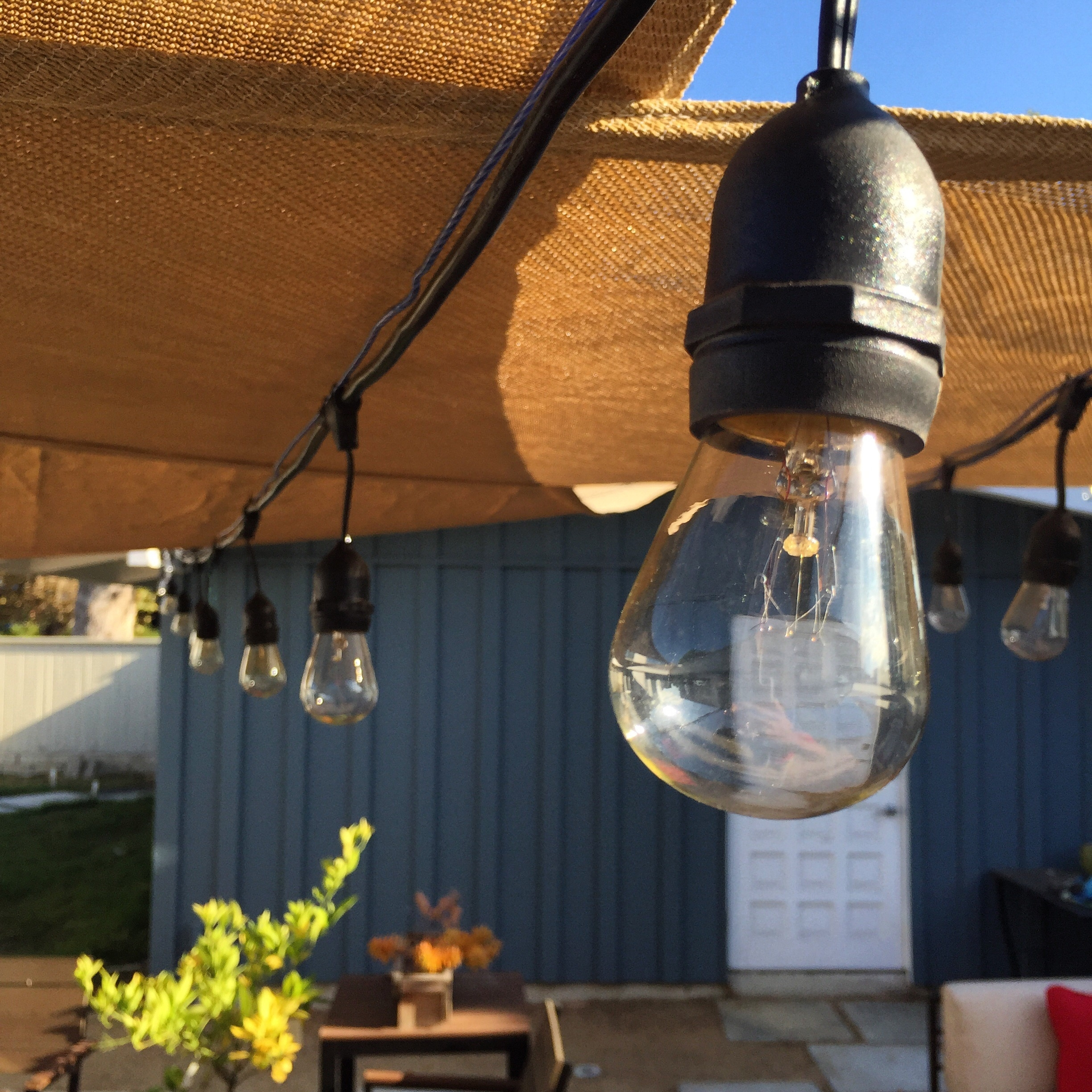 Outdoor Lights On Patio: 15 Best Collection Of Hanging Outdoor String Lights At Costco