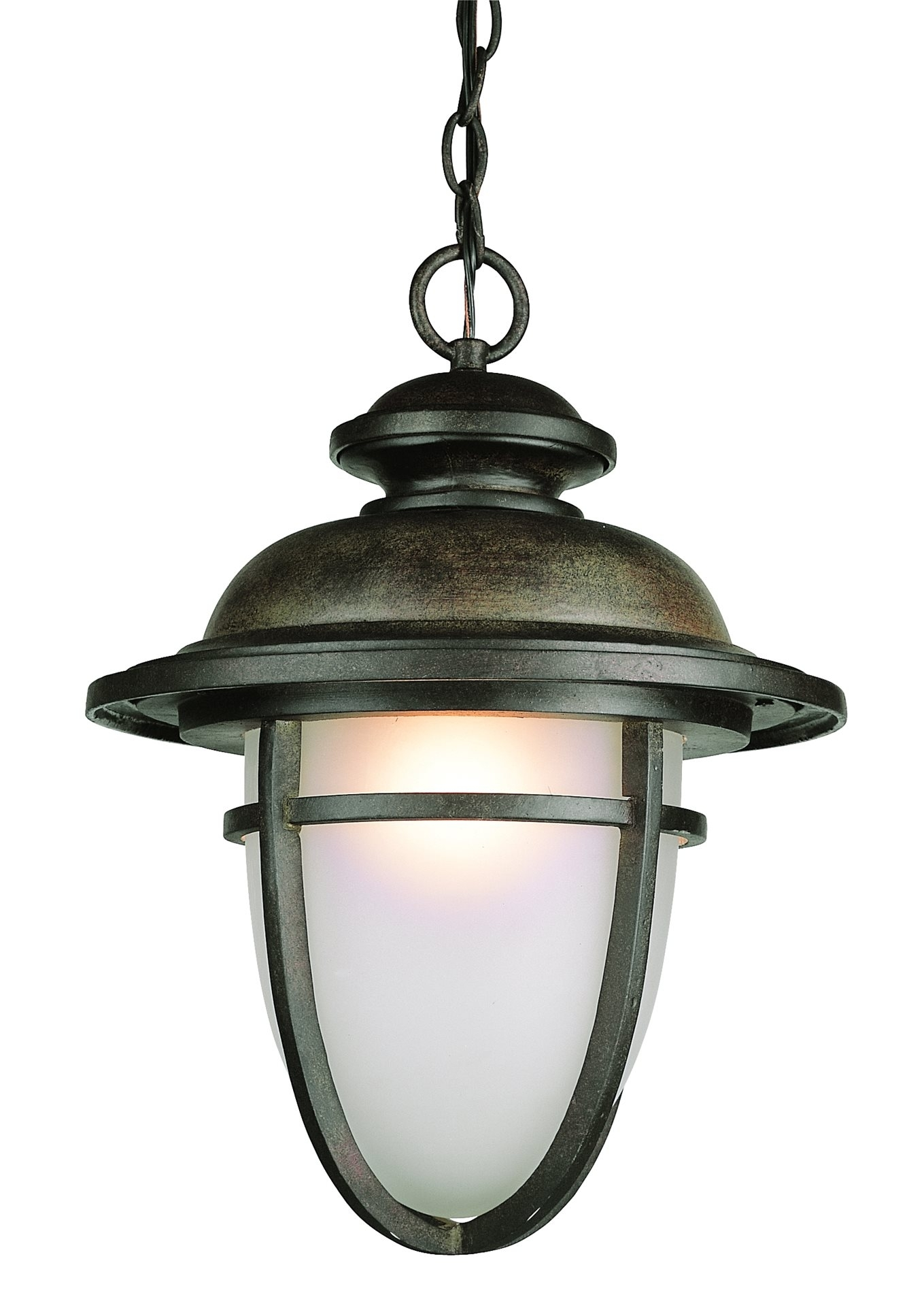 Craftsman And Traditional Detailing Draw The Eye In To This Trans Pertaining To Outdoor Hanging Globe Lights (View 2 of 15)