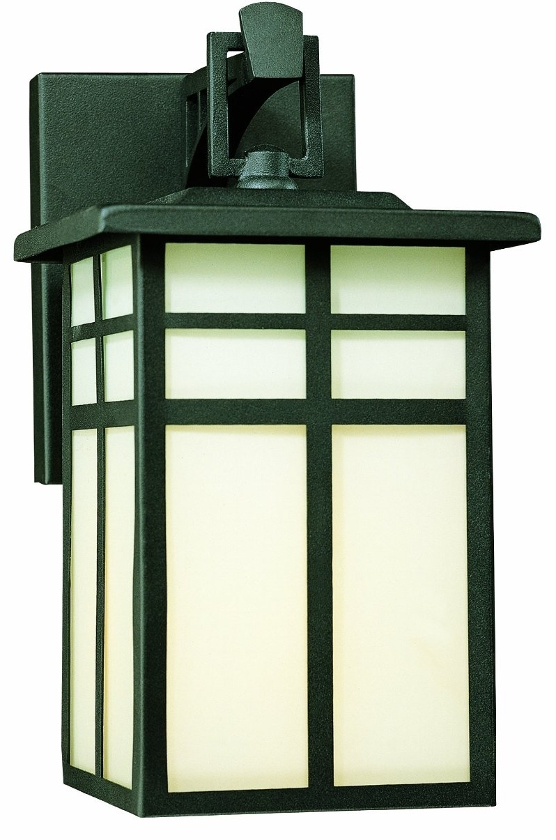 Craftsman Style Porch Light Mission Outdoor Lanterns Wall Hanging For Mission Style Outdoor Wall Lighting (#4 of 15)