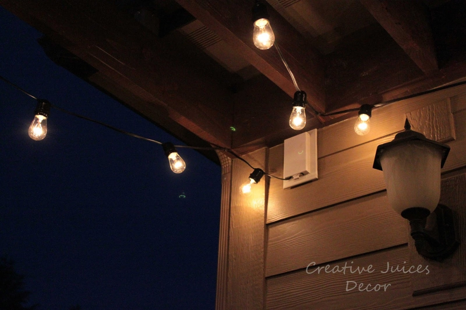 15 Inspirations Of Solar Hanging Outdoor Patio Lights