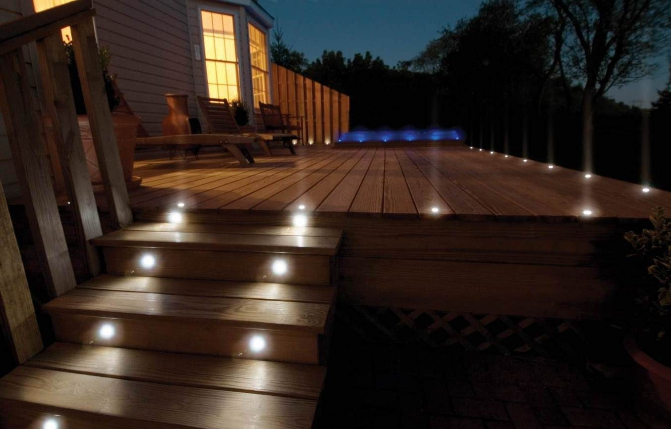 Deck Lighting Ideas Design — Jbeedesigns Outdoor : Deck Lighting In Modern Low Voltage Deck Lighting (View 8 of 15)