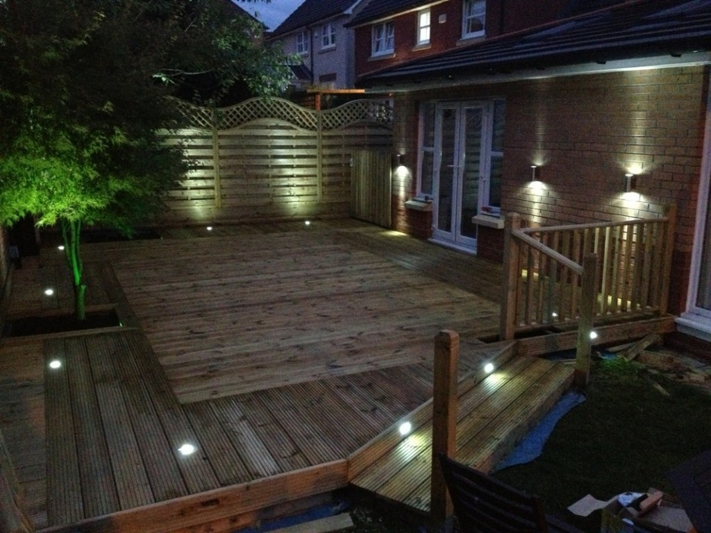 Deck Lighting Ideas For Beginner | Home Design Studio Regarding Modern Low Voltage Deck Lighting (View 7 of 15)